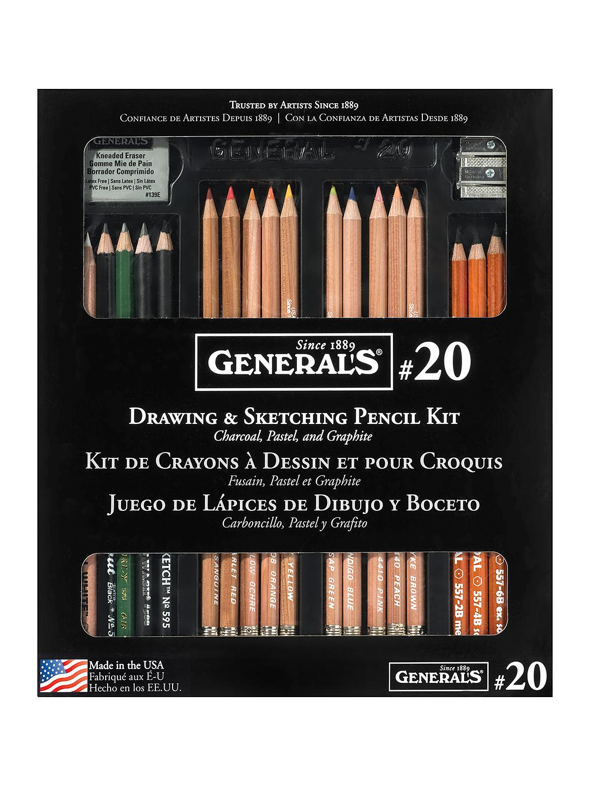 Drawing Pencil Kit #20