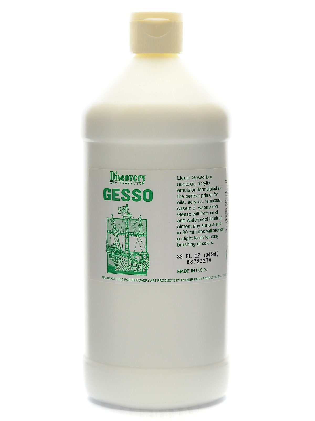 Economy Green Label Acrylic Gesso