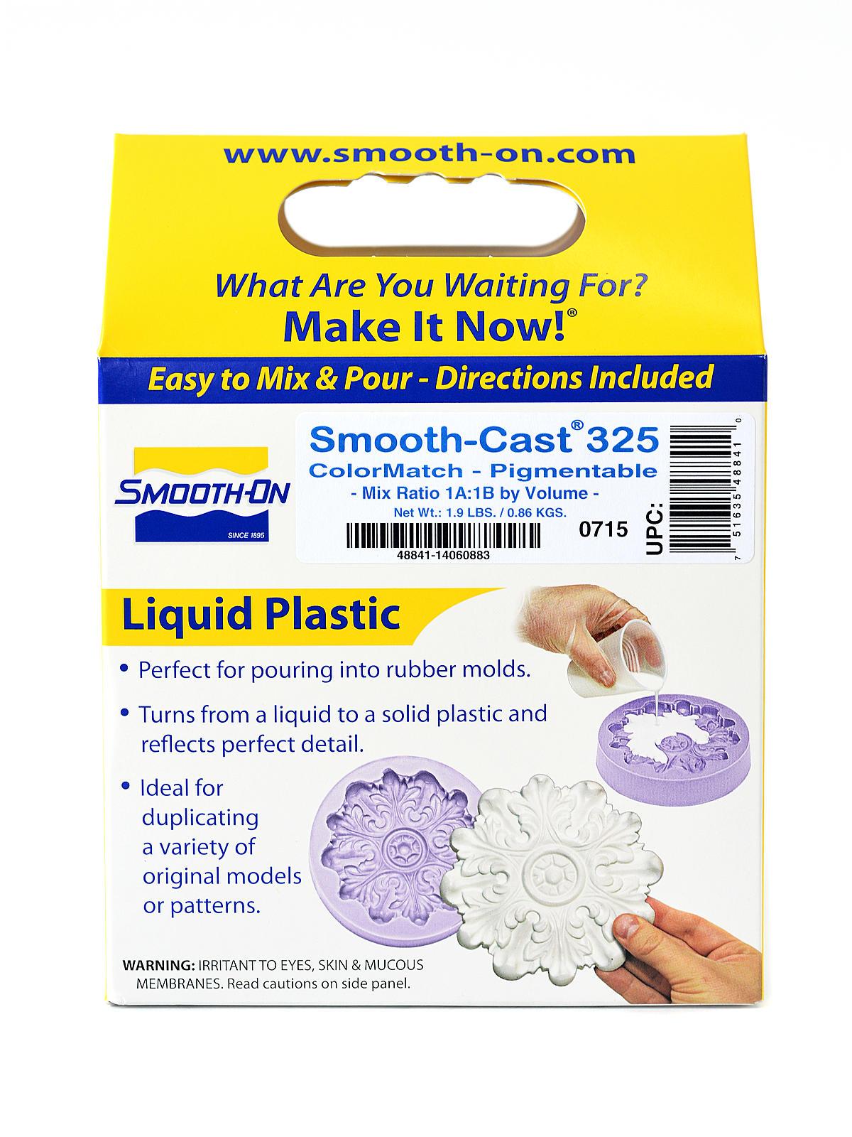 Smooth-Cast 325 ColorMatch Liquid Plastic Compound