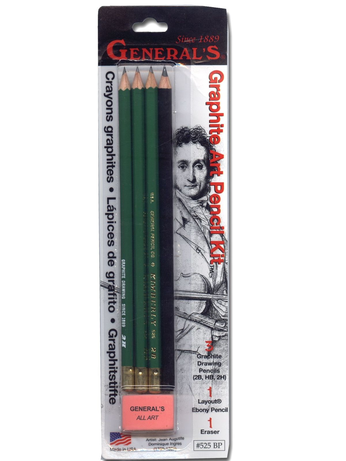 Graphite Art Pencil Kit