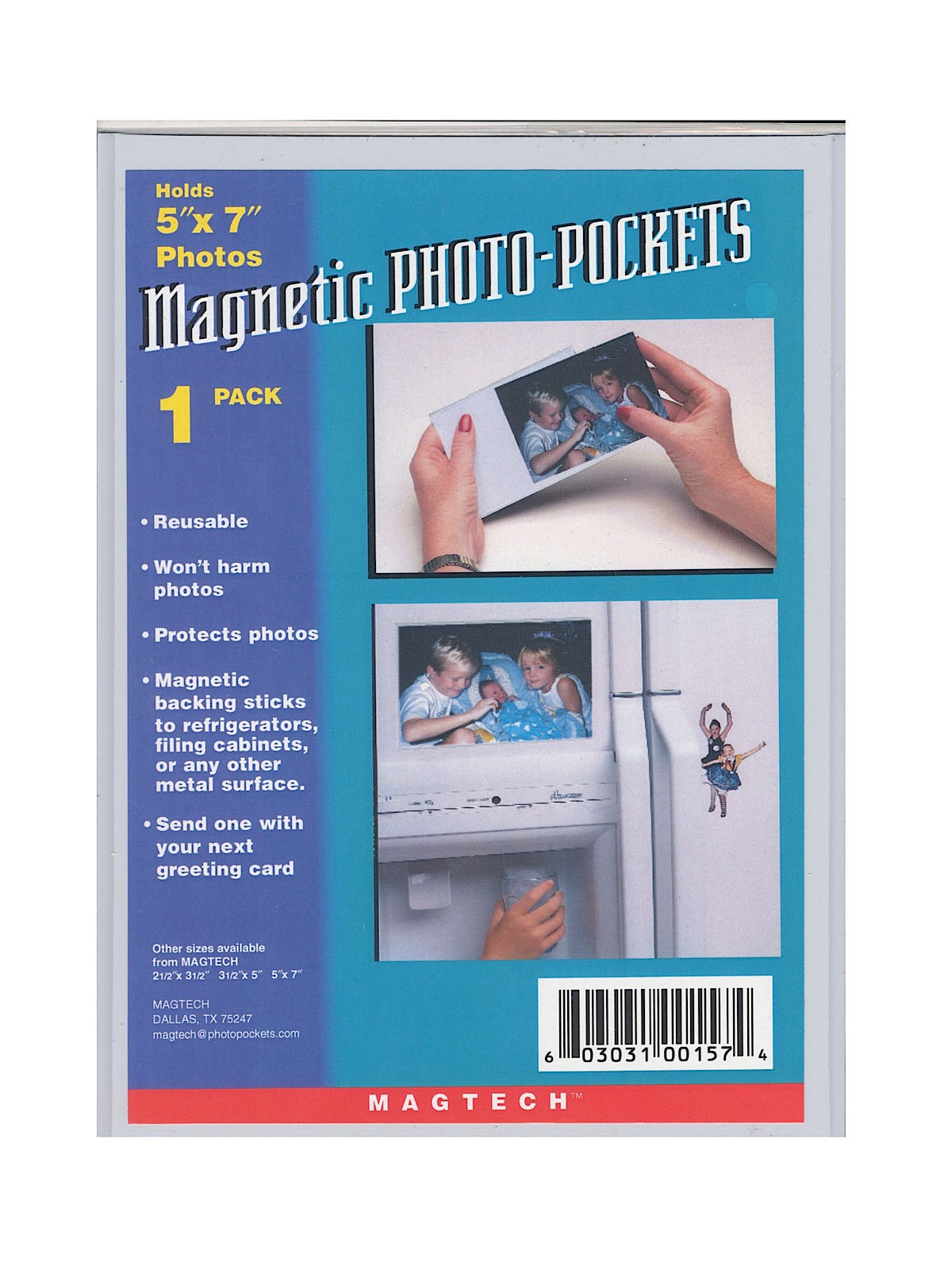 Magnetic Photo Pockets