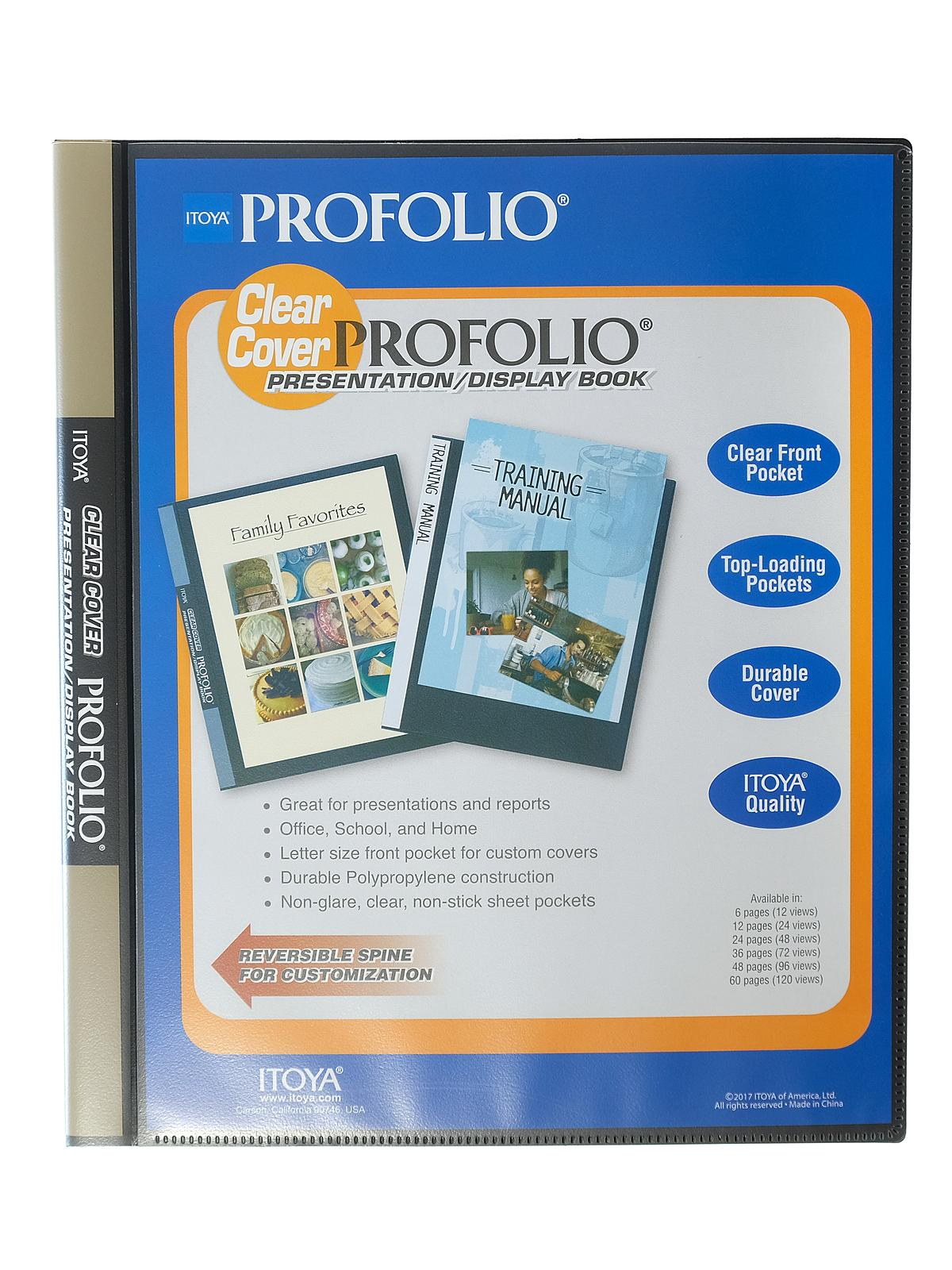 Clear Cover Profolio Presentation Books