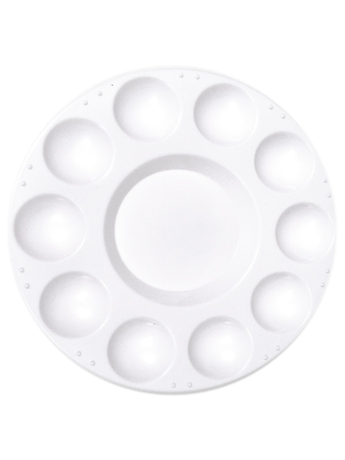 Plastic 10 Well Round Tray