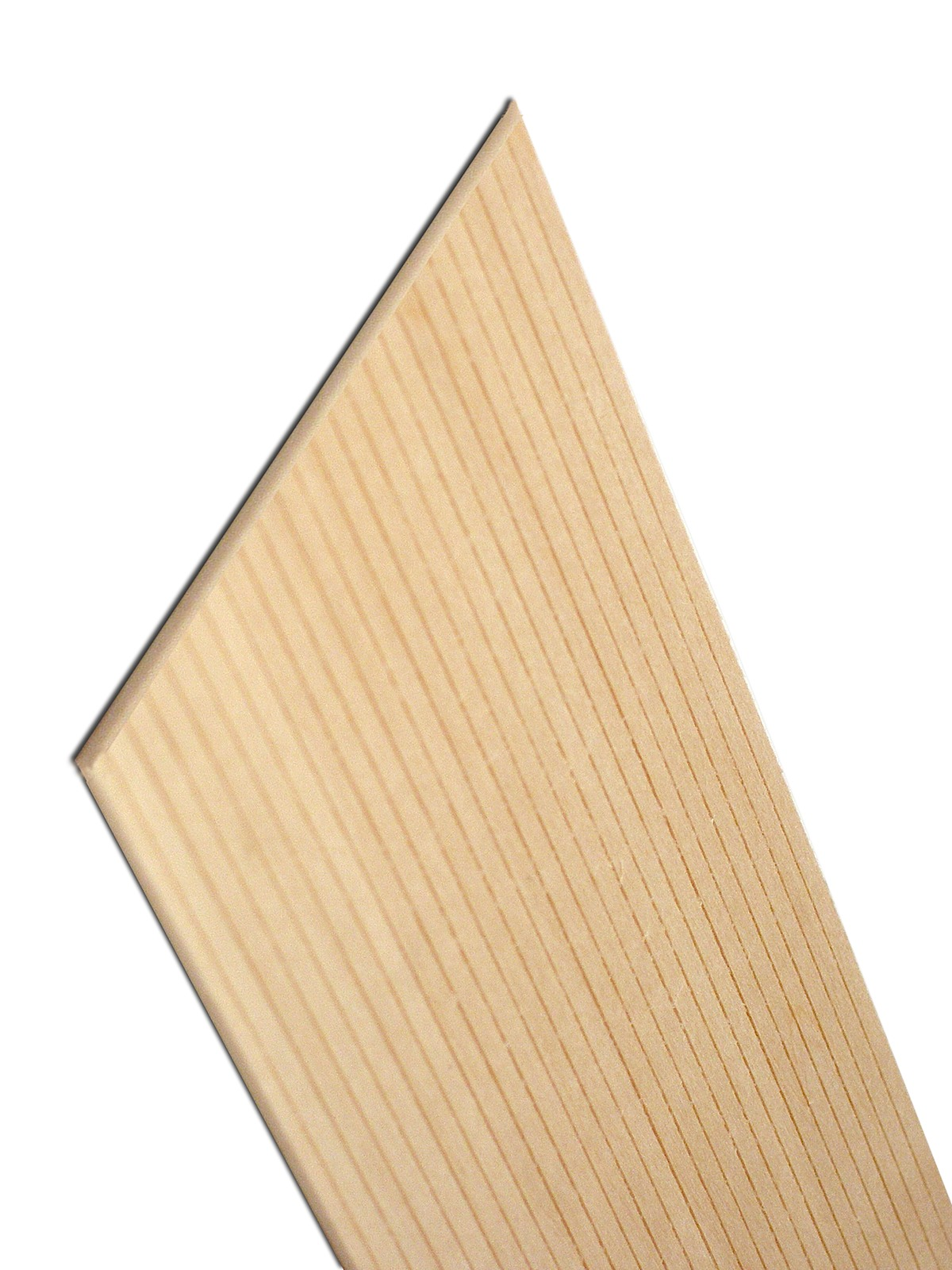 Basswood Scribed Sheathing/Flooring