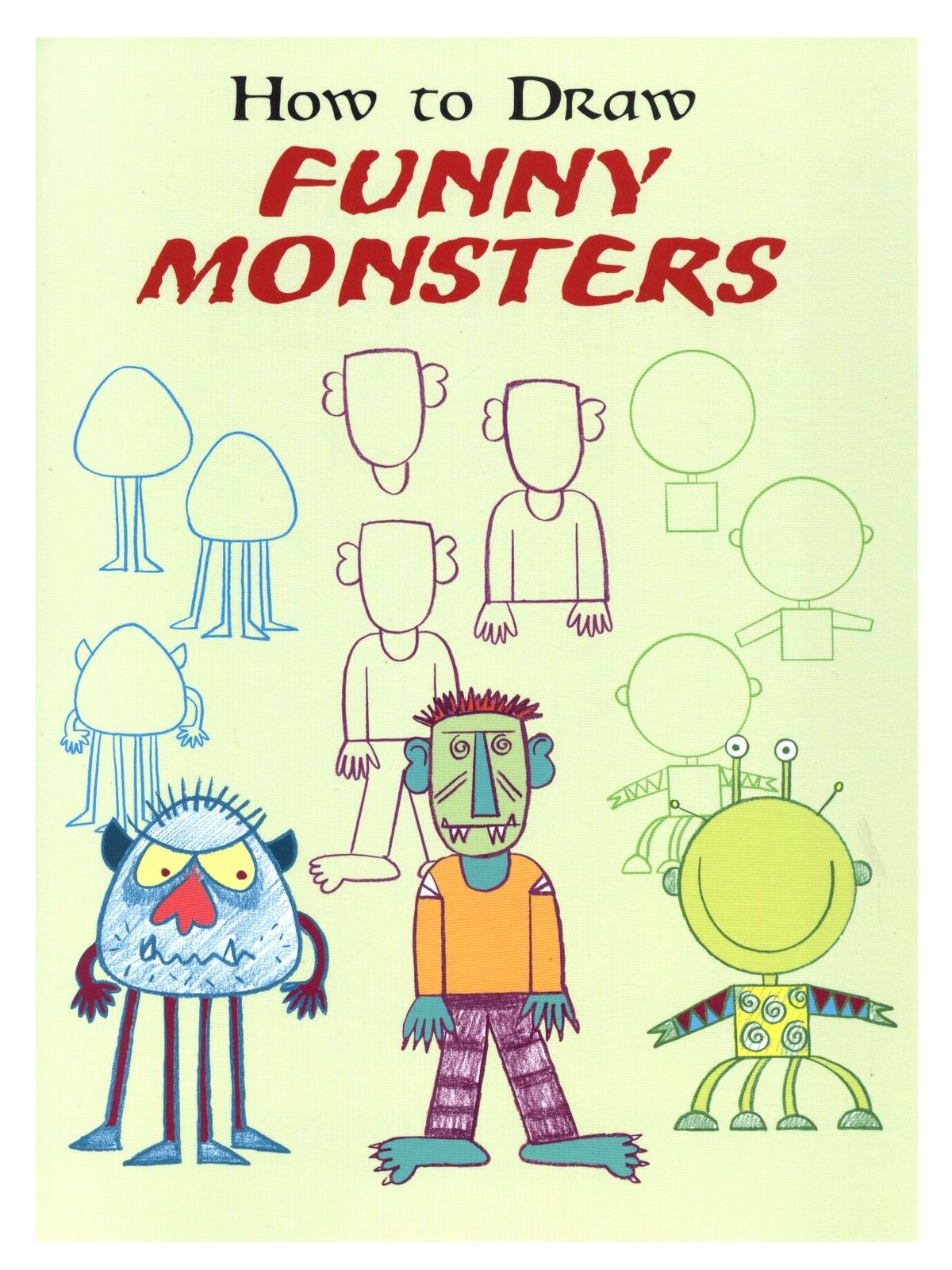 How to Draw Funny Monsters