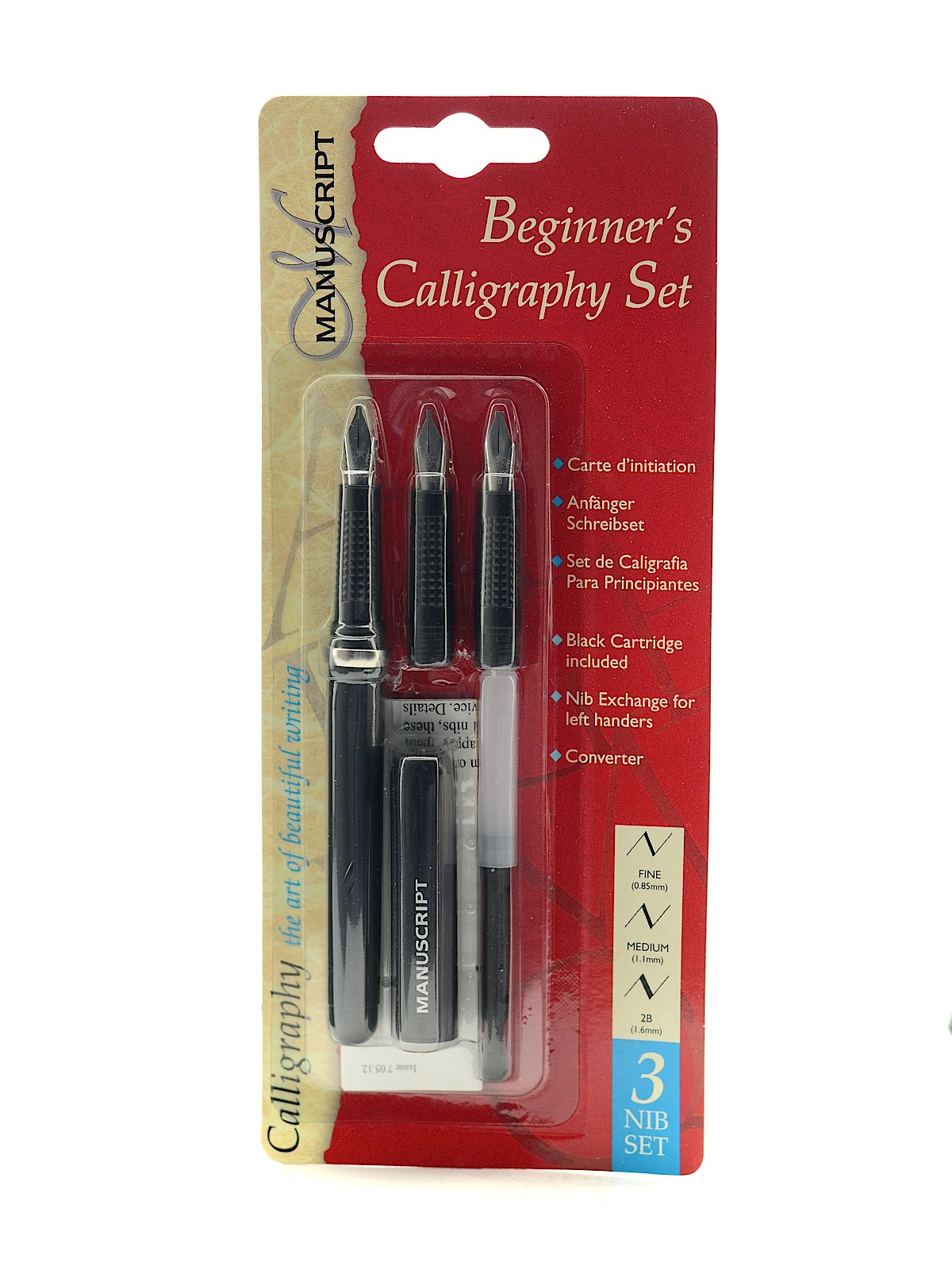 3 Nib Beginners Calligraphy Set