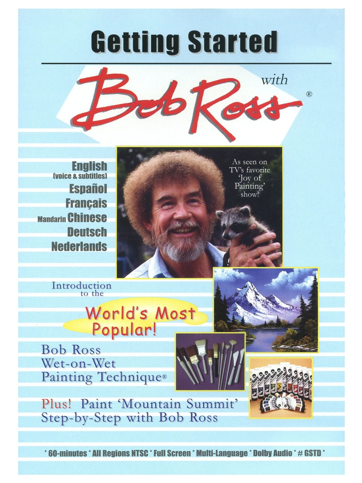 Bob Ross - Getting Started -- DVD
