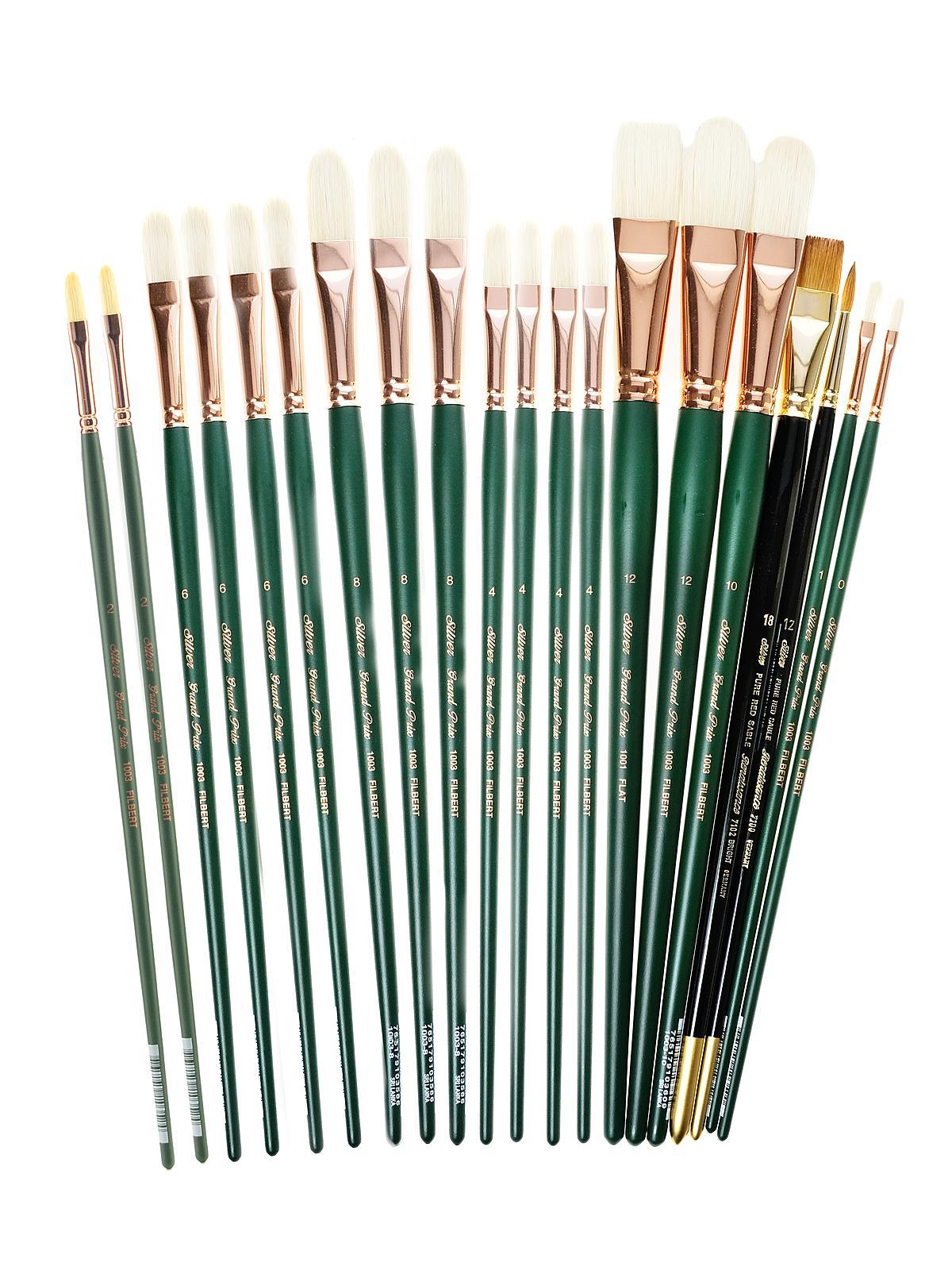 Silver Brush - Everett Kinstler Brush Sets