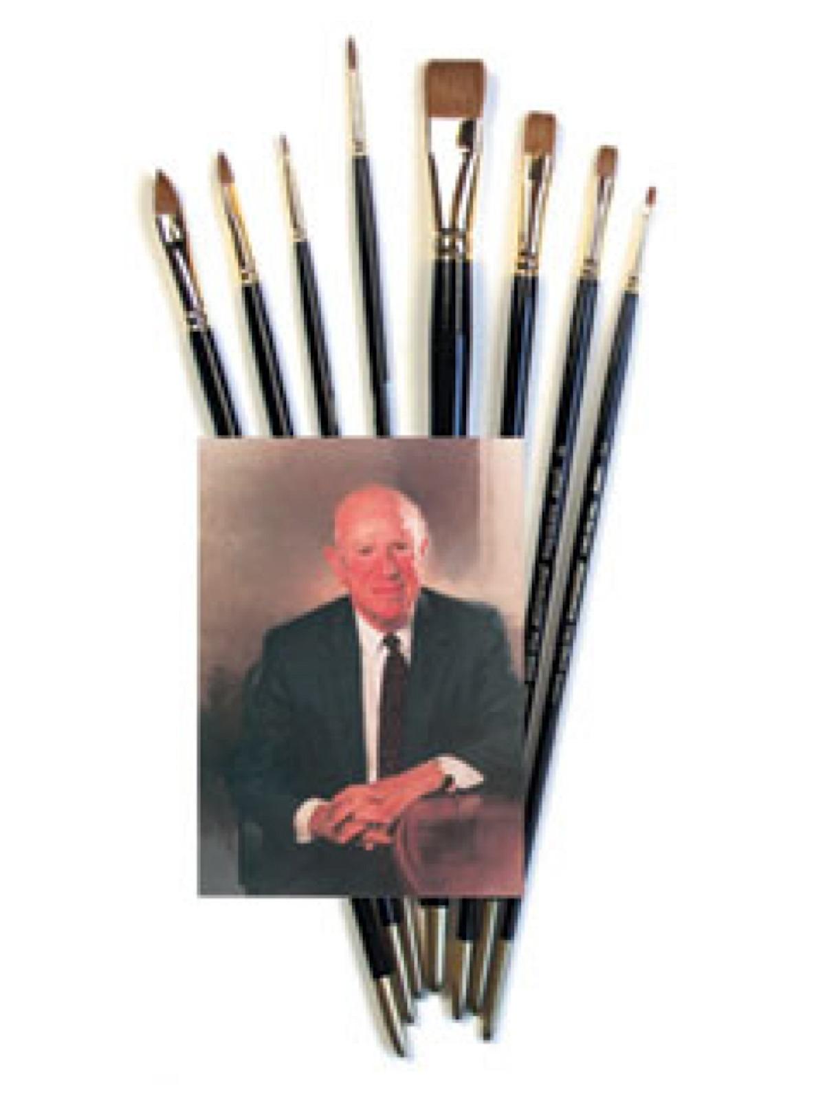 John Sanden Red Sable Brush Sets