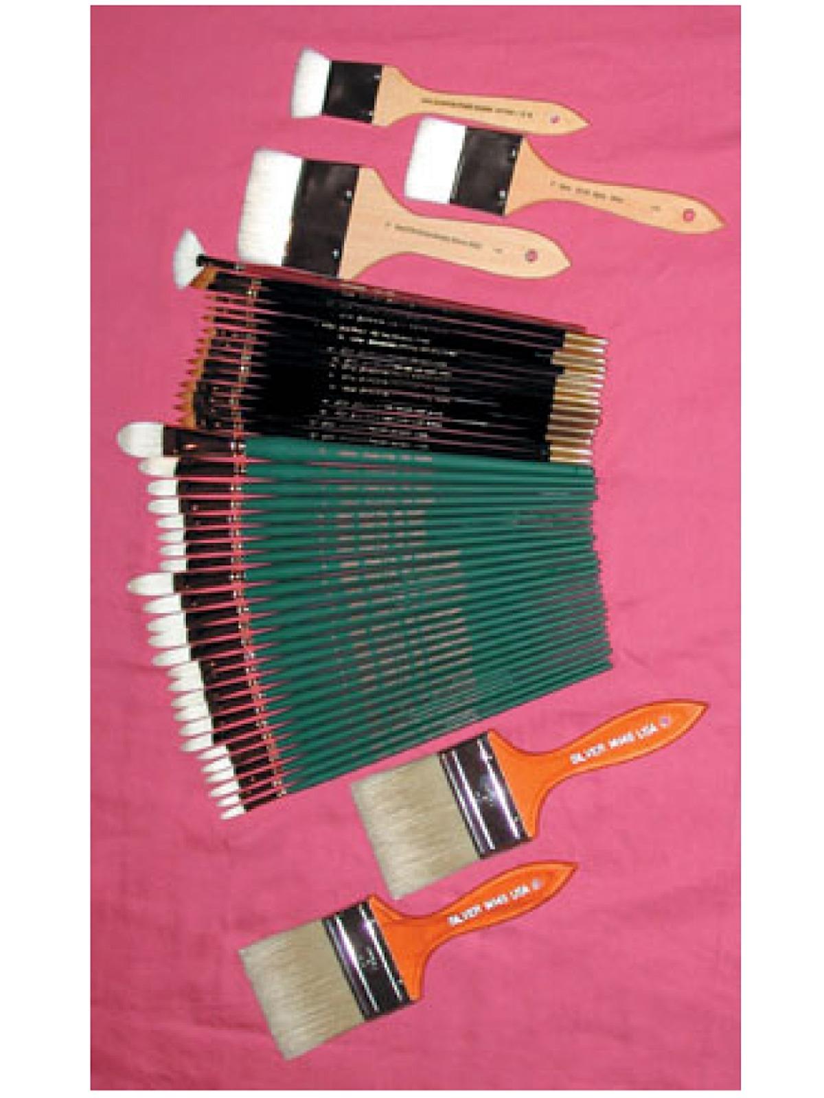 Nelson Shanks Brush Sets