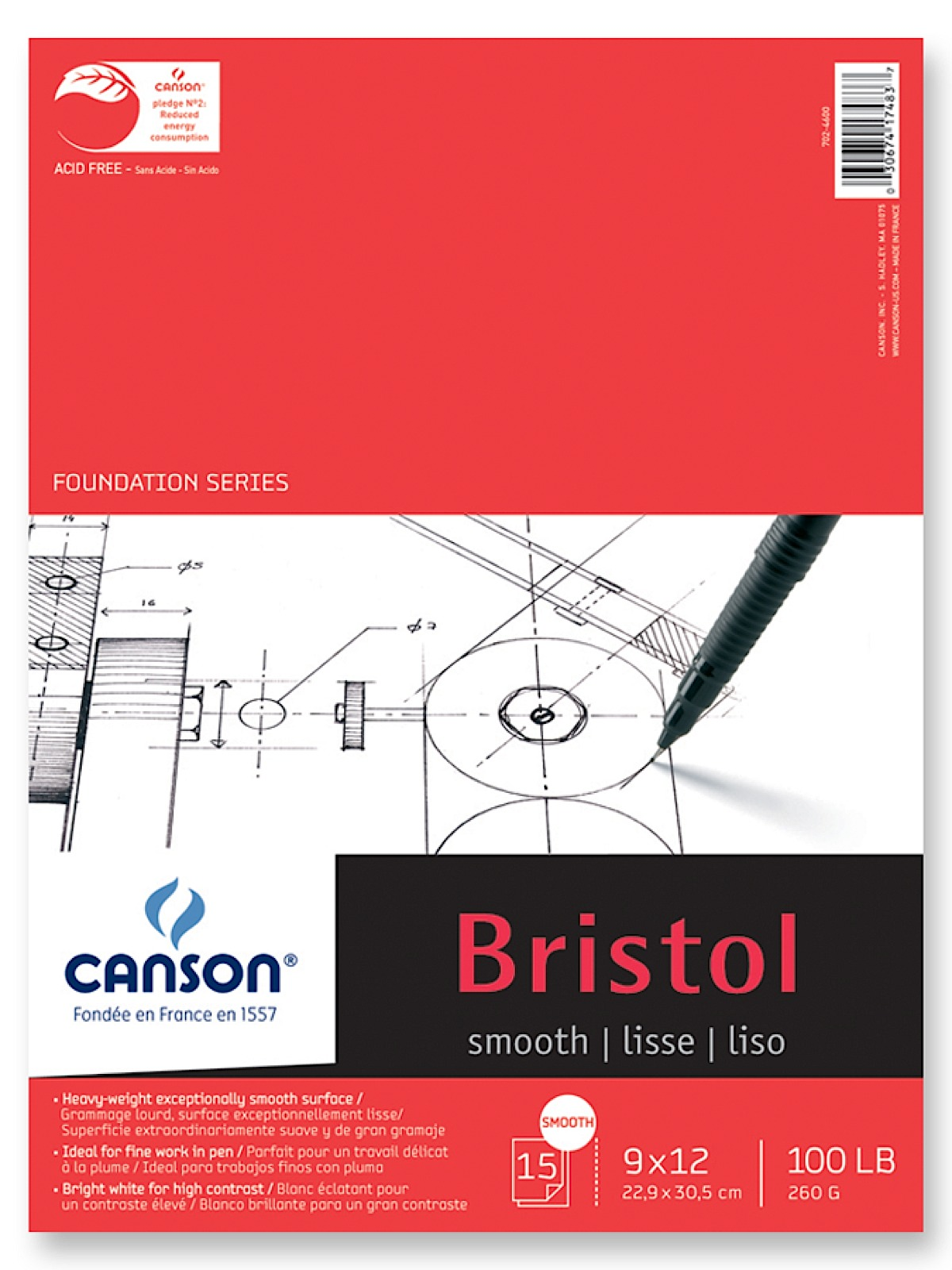 Foundation Bristol Pads