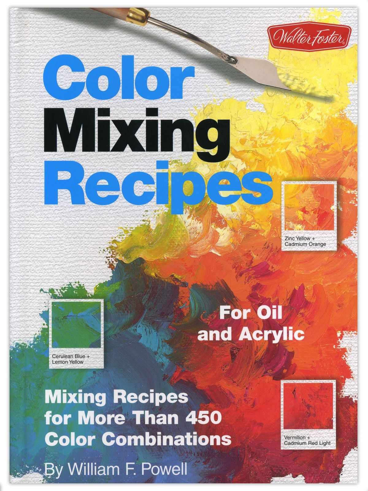 Book Cover Watercolor Mixing : Color mixing recipes for oil and acrylic misterart