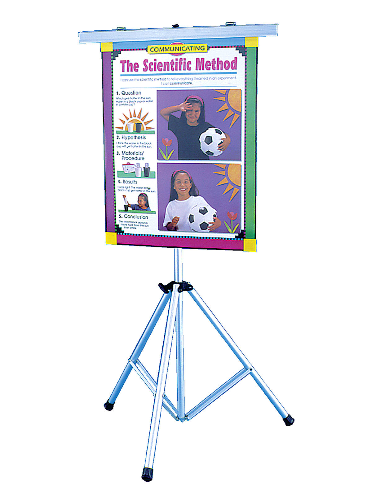Combination Map and Poster Stand