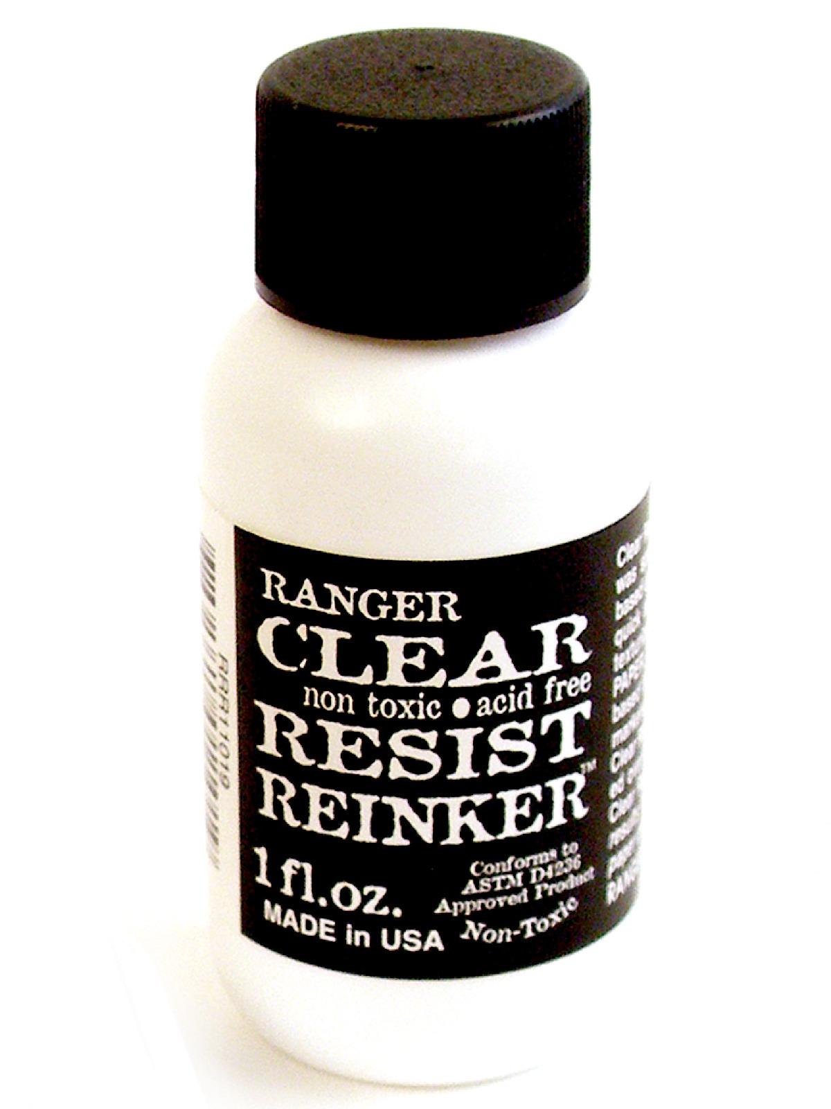 Watermark Resist Ink