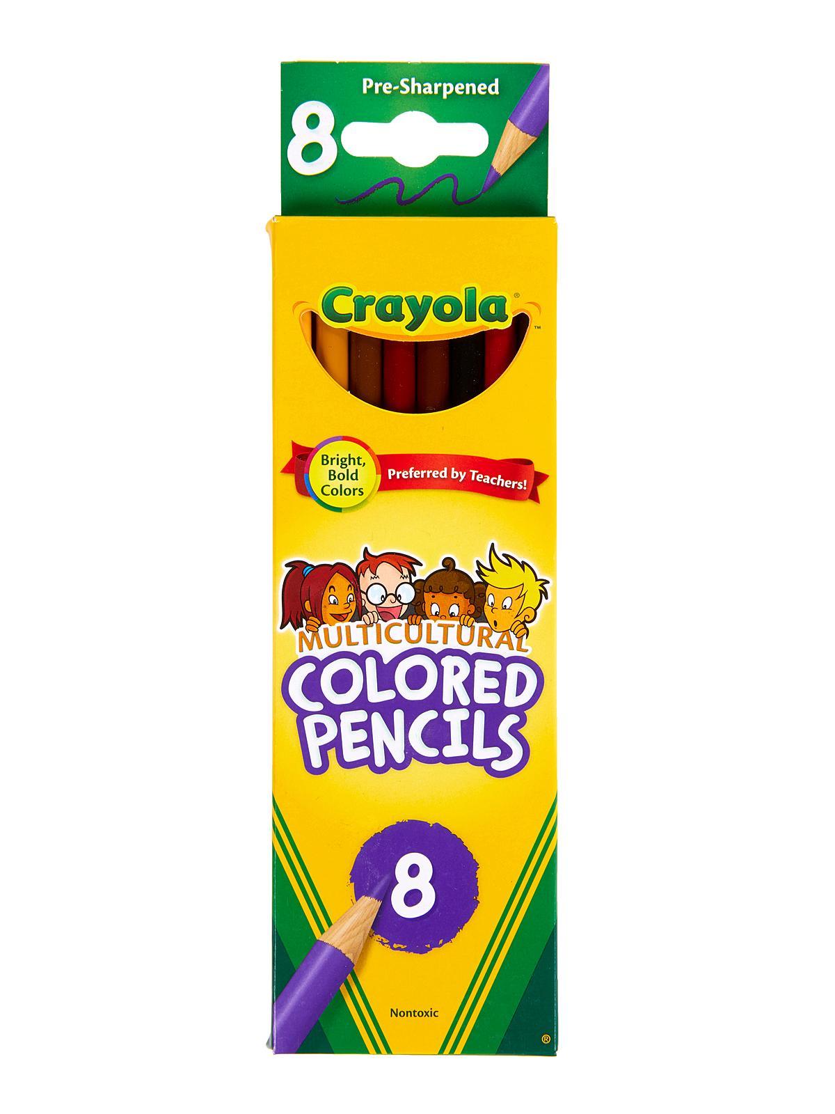Multicultural Colored Pencils