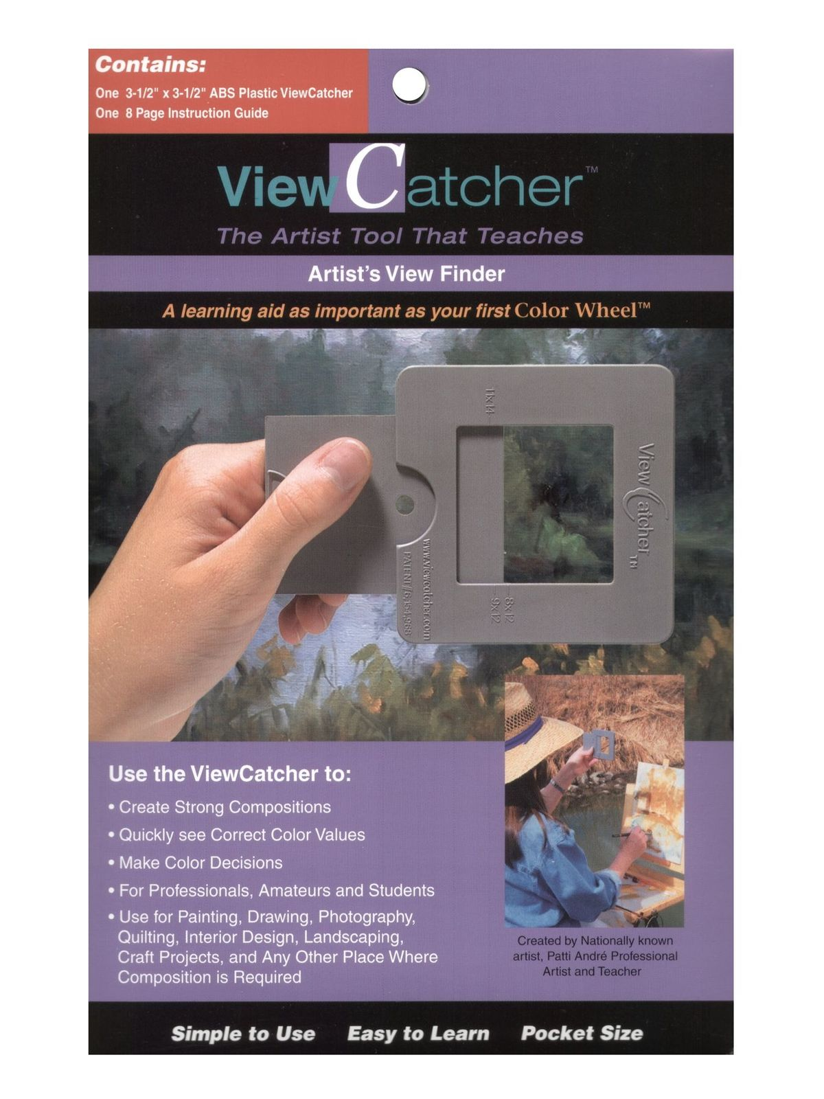 The Color Wheel Company - ViewCatcher Artist's View Finder