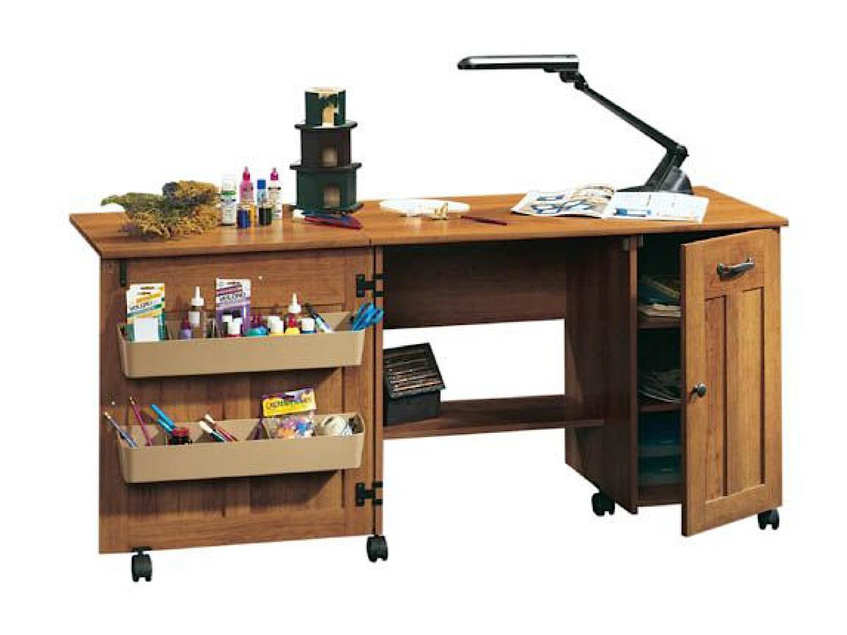 Sauder craft cart for Sauder sewing craft table