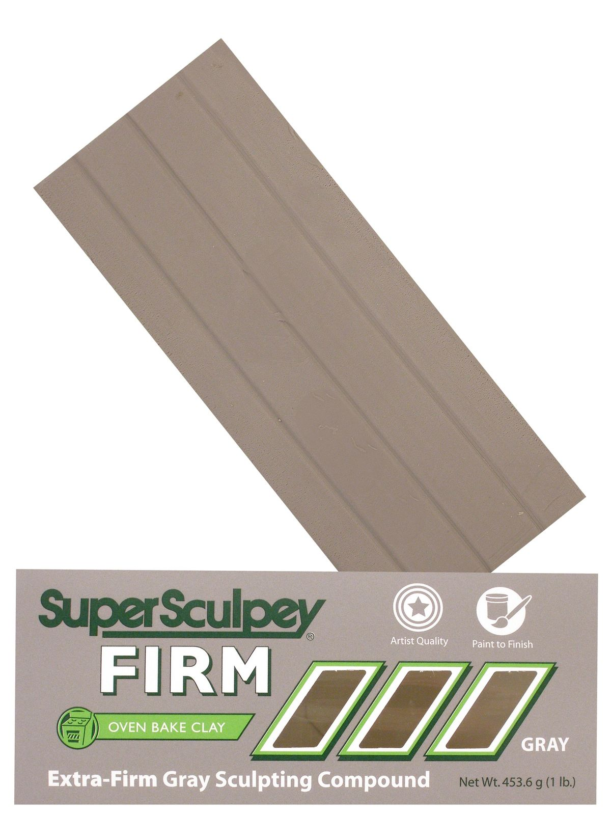 Super  Firm Gray Sculpting Compound