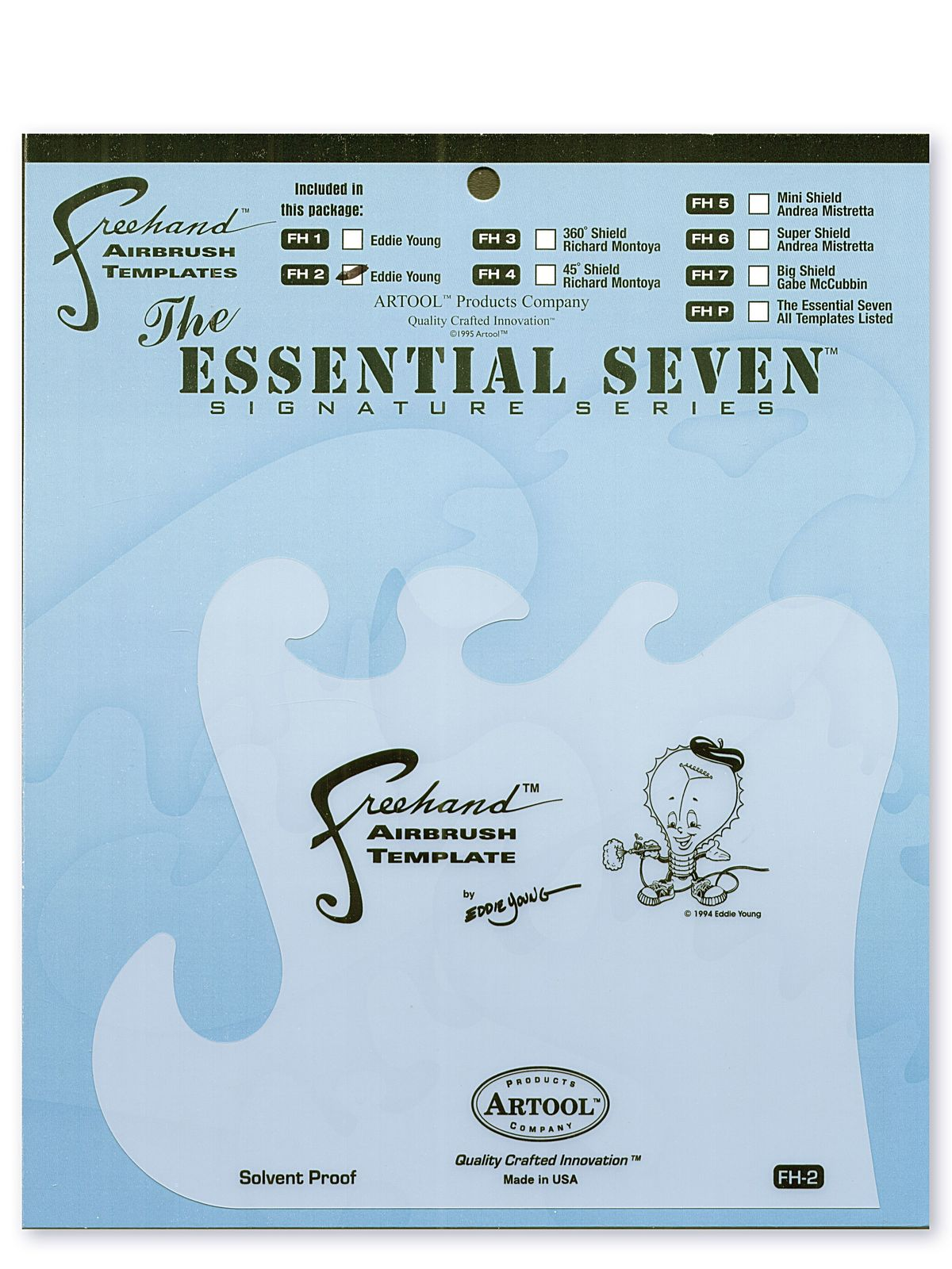 Freehand Airbrush Templates by Eddie Young