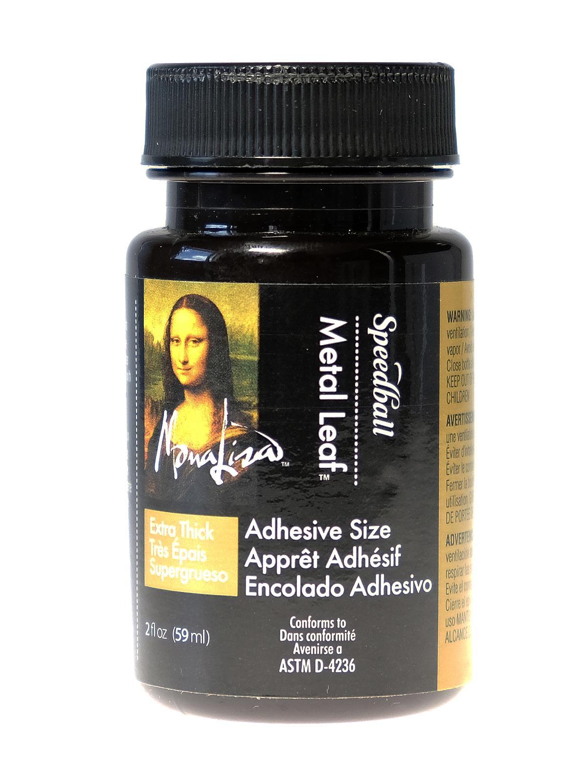 Mona Lisa - Extra Thick Metal Leaf Adhesive