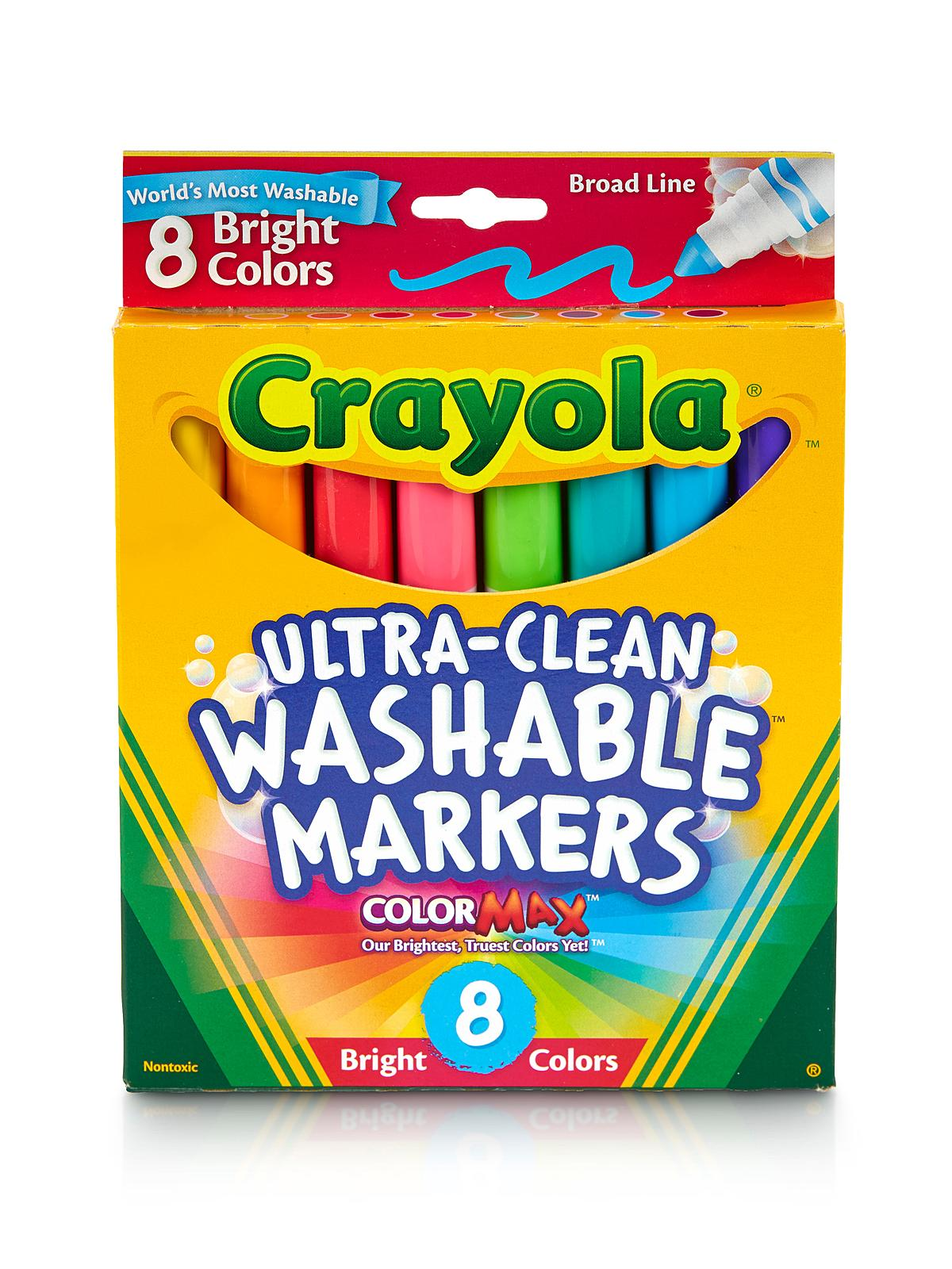 Bright Colors Ultra-Clean Washable Markers