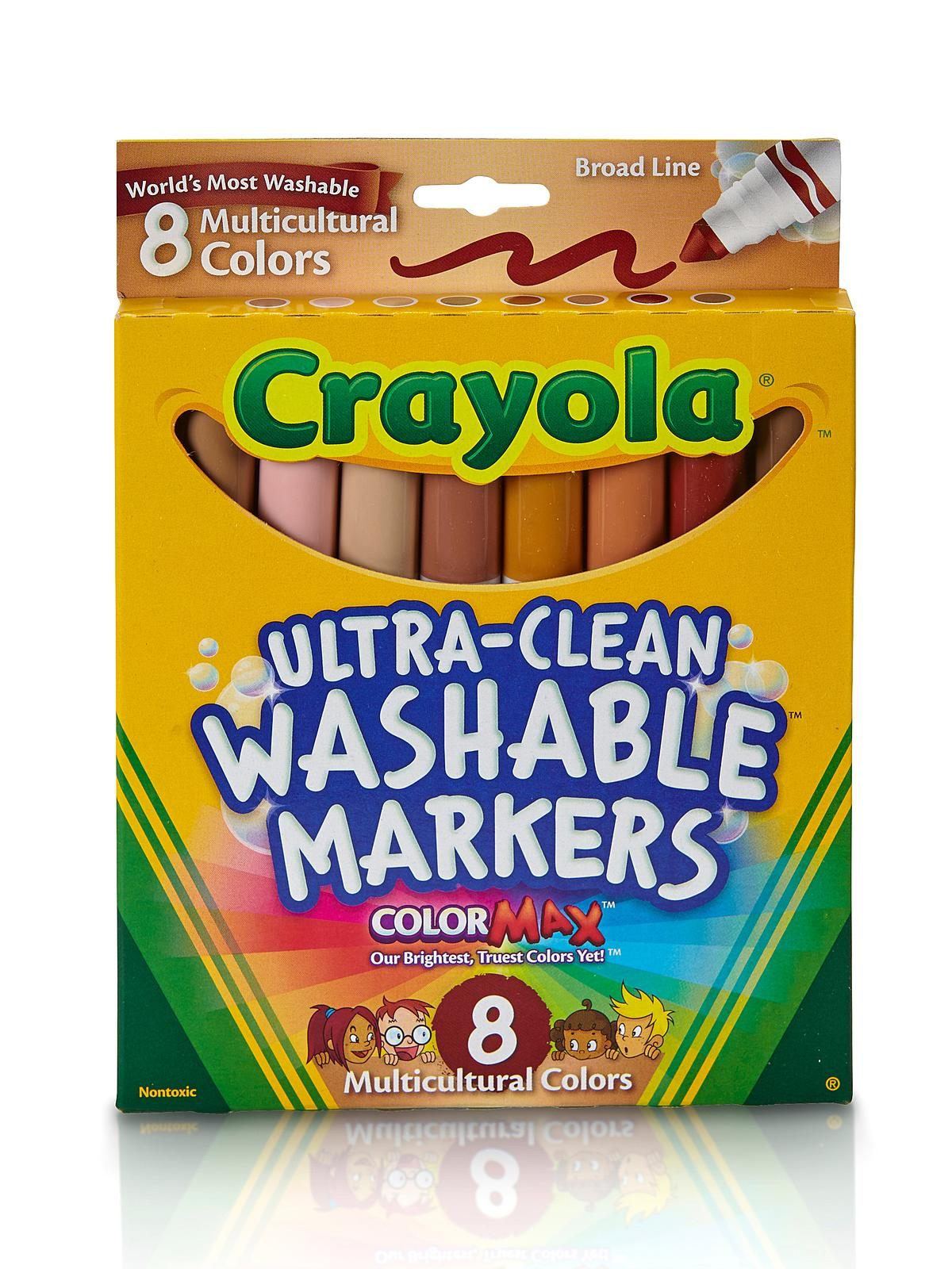 Multicultural Colors Ultra-Clean Washable Markers