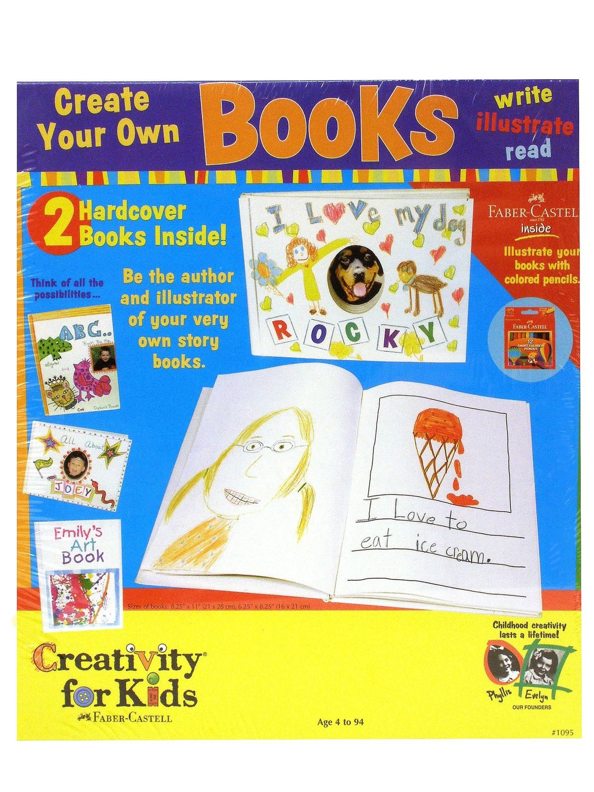 Creativity for kids create your own books for Create your own