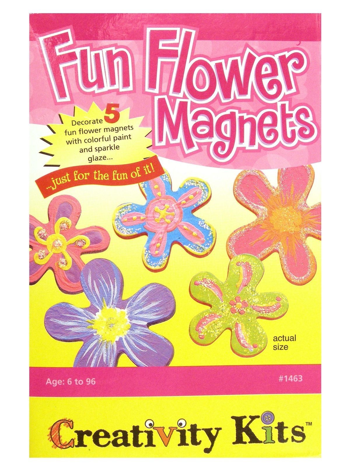 Fun Flower Magnets Mini Kit