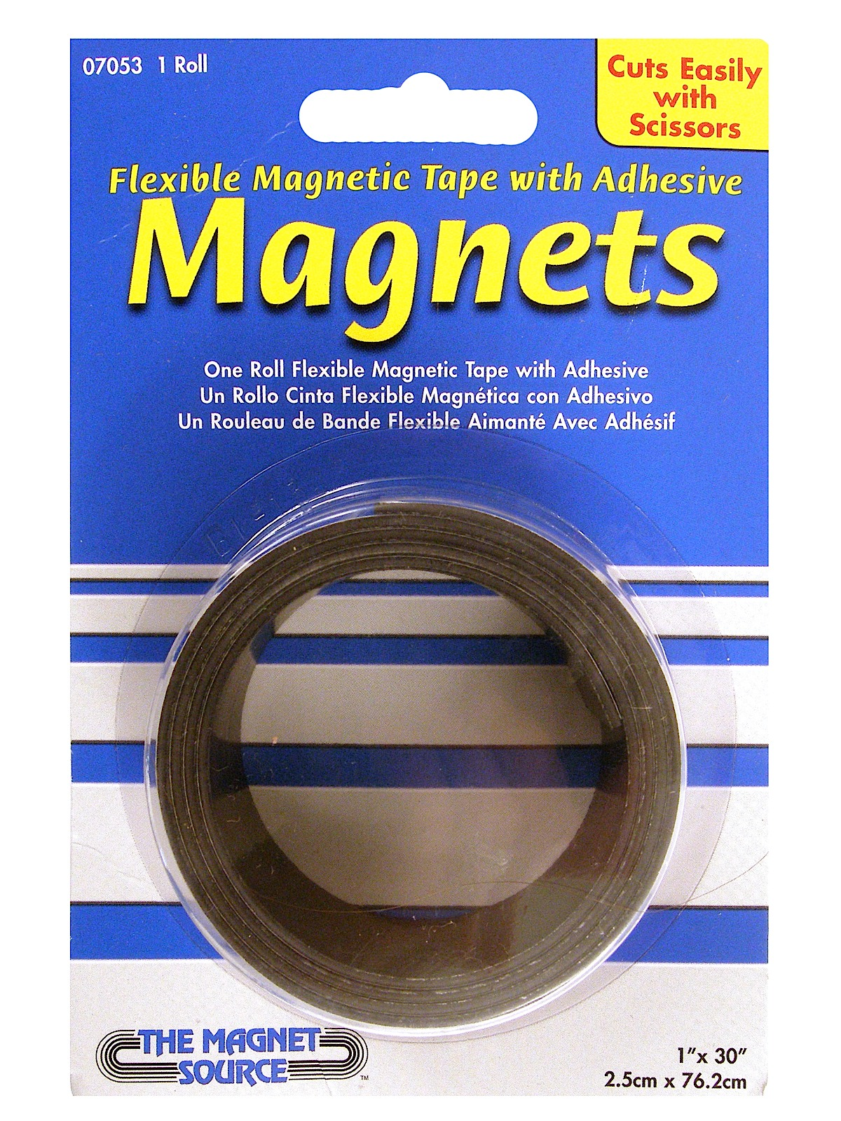 Flexible Magnetic Strips with Adhesive