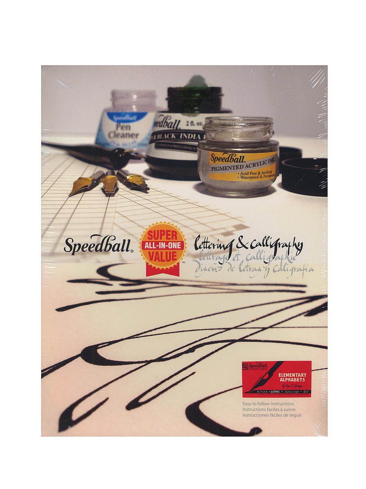 Super Value Lettering & Calligraphy Kit