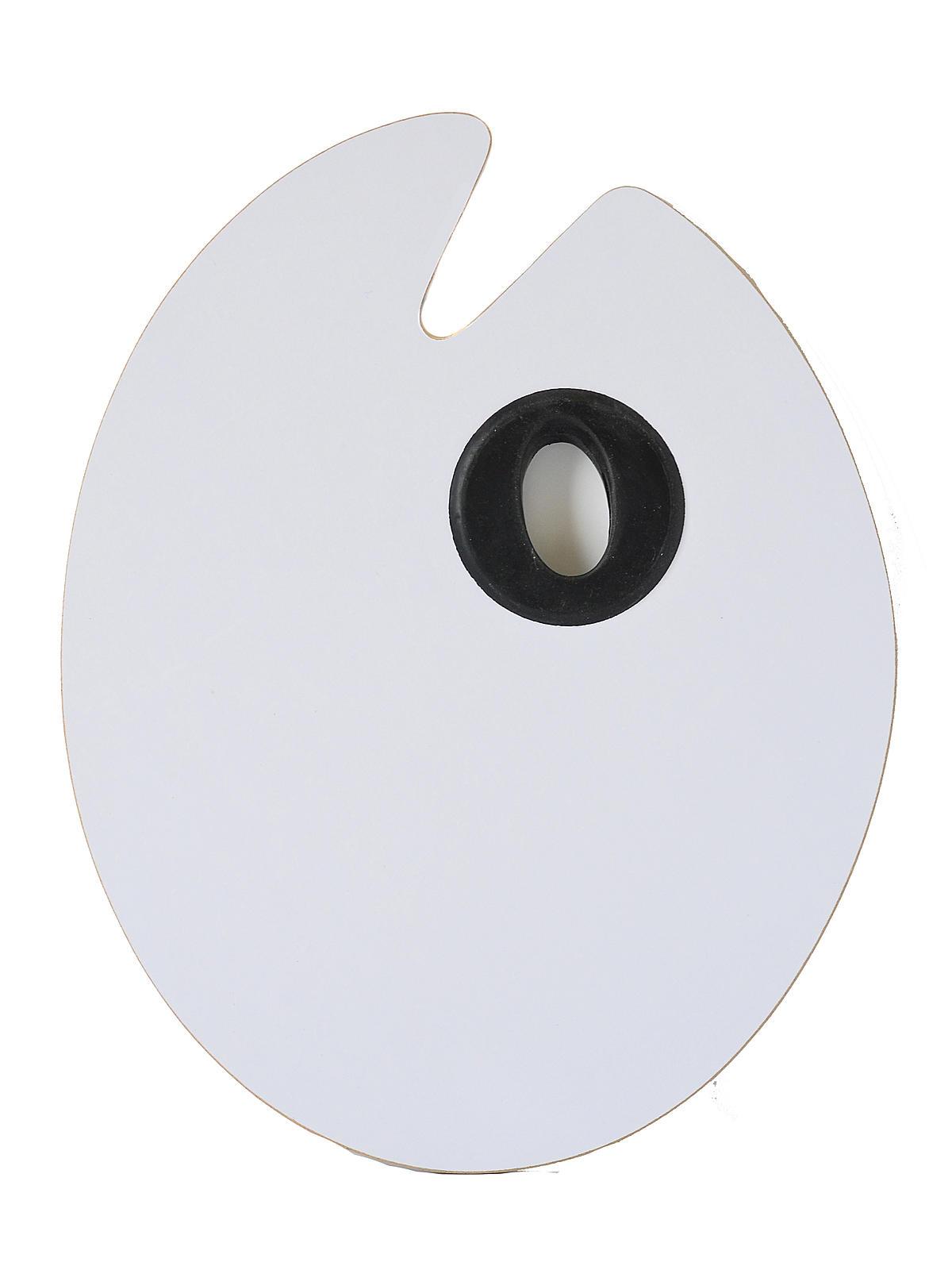 Oval Melamine Palettes