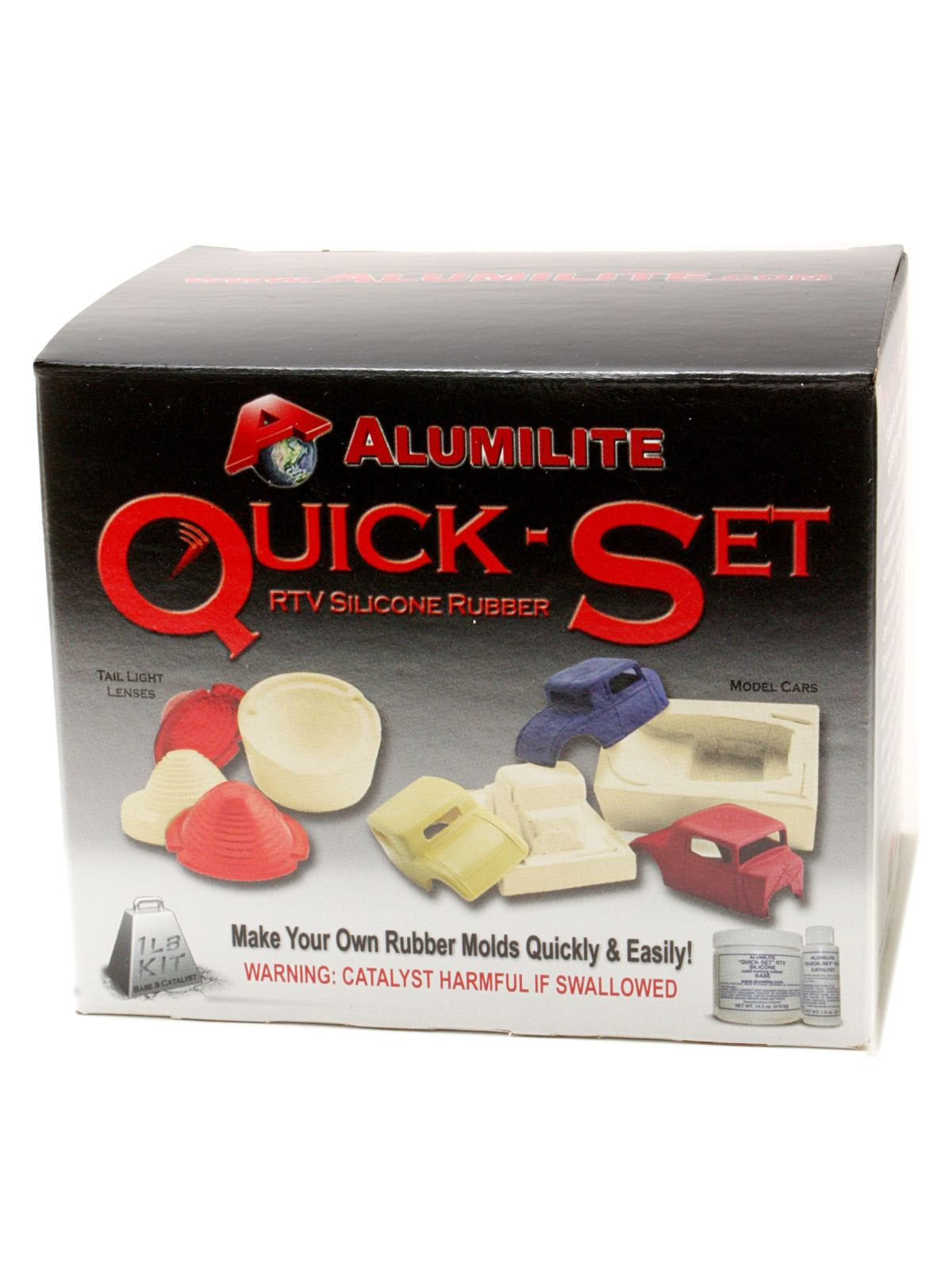 Alumilite Quick Set Mold Rubber Kit Misterart Com