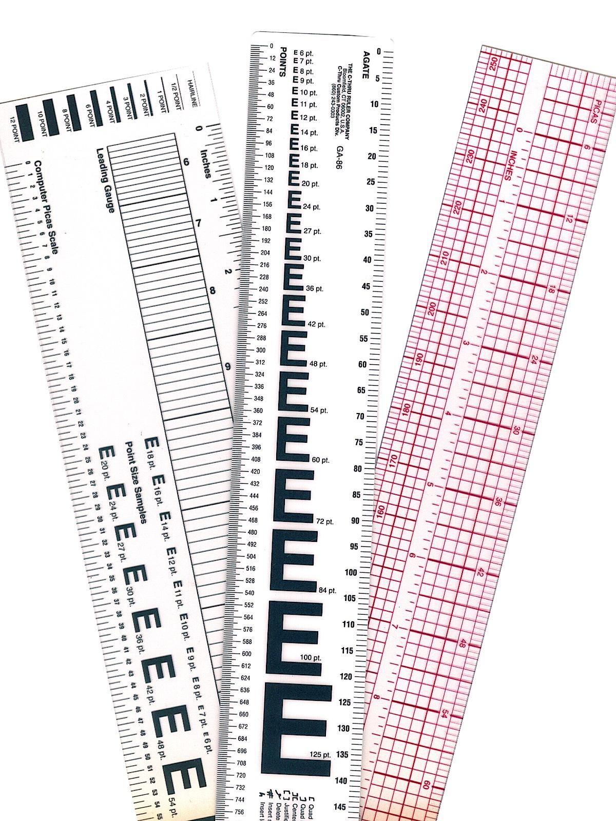 Westcott - Graphic Art Rulers