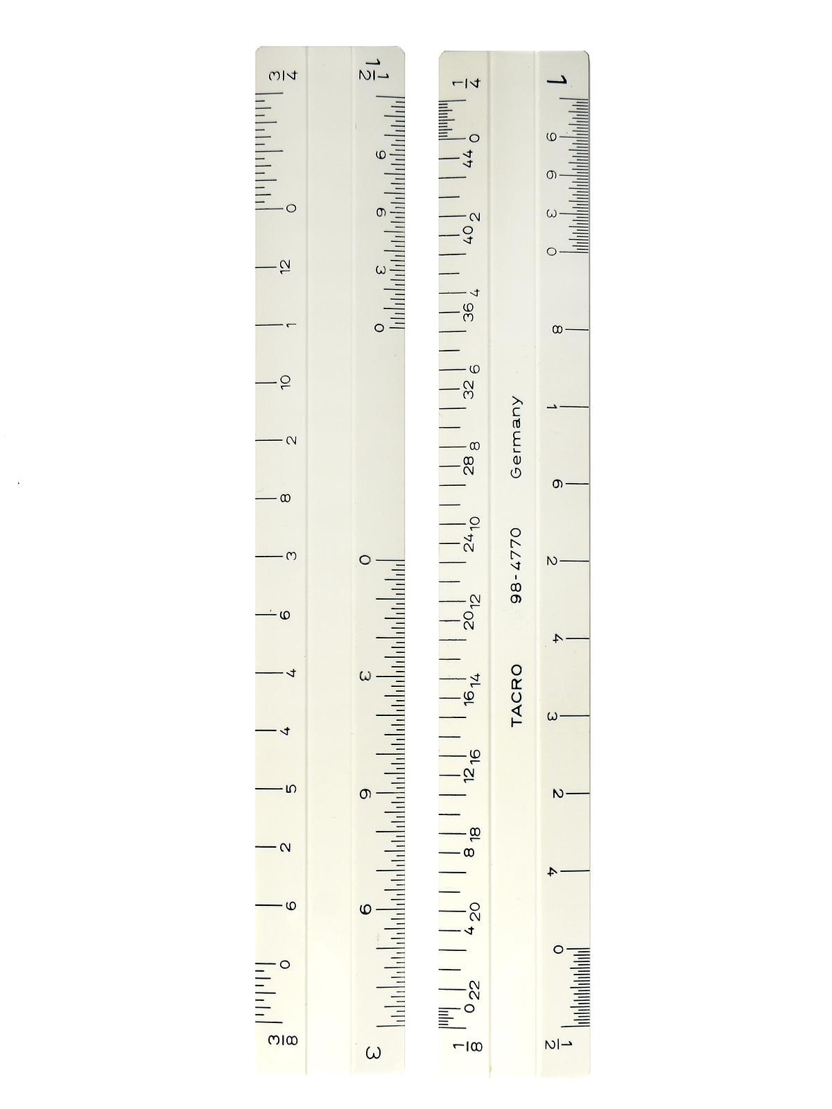Architect Beveled Scale