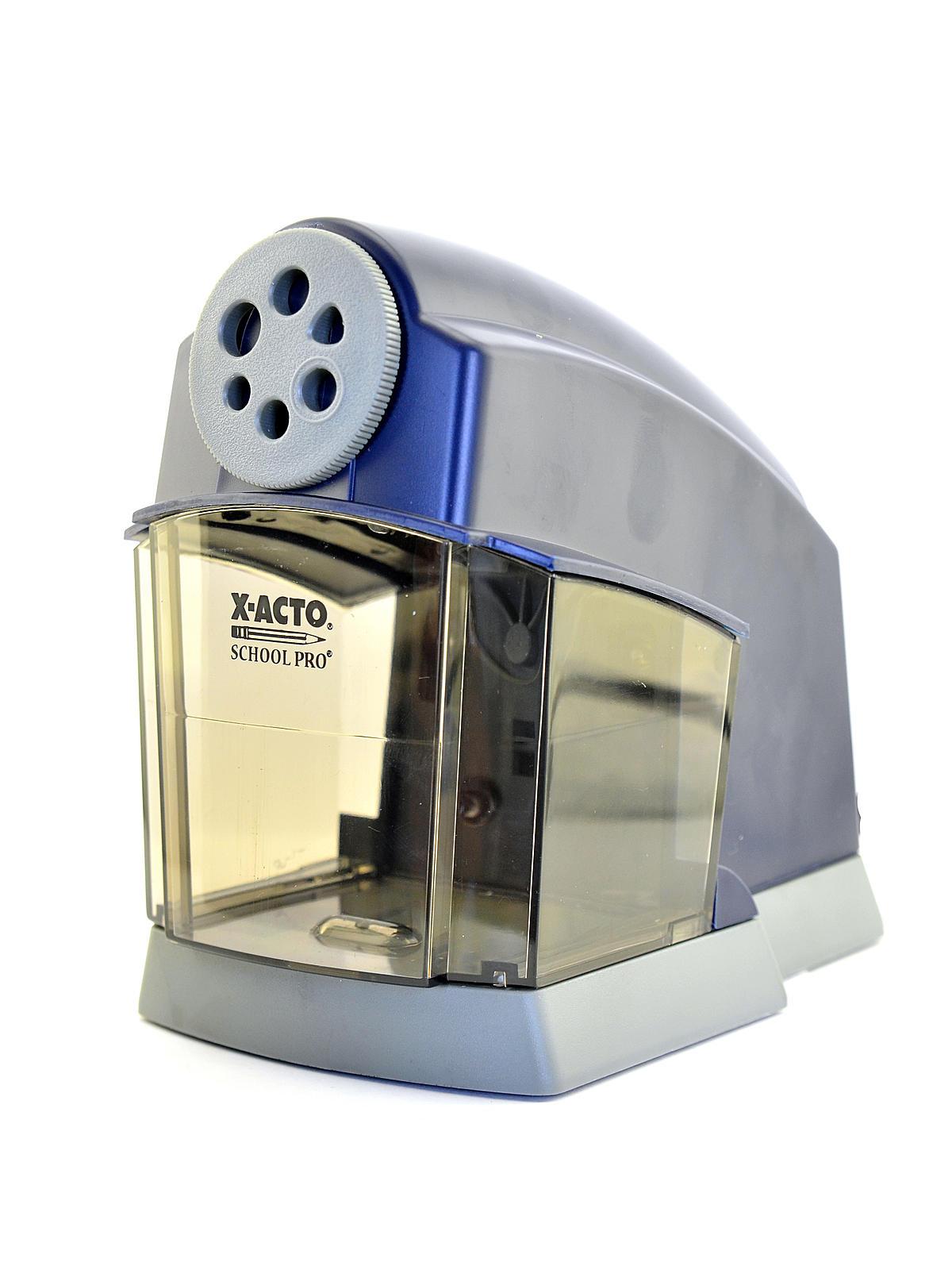 X-Acto Boston School Pro Electric Pencil Sharpener ... X Acto Electric Pencil Sharpener