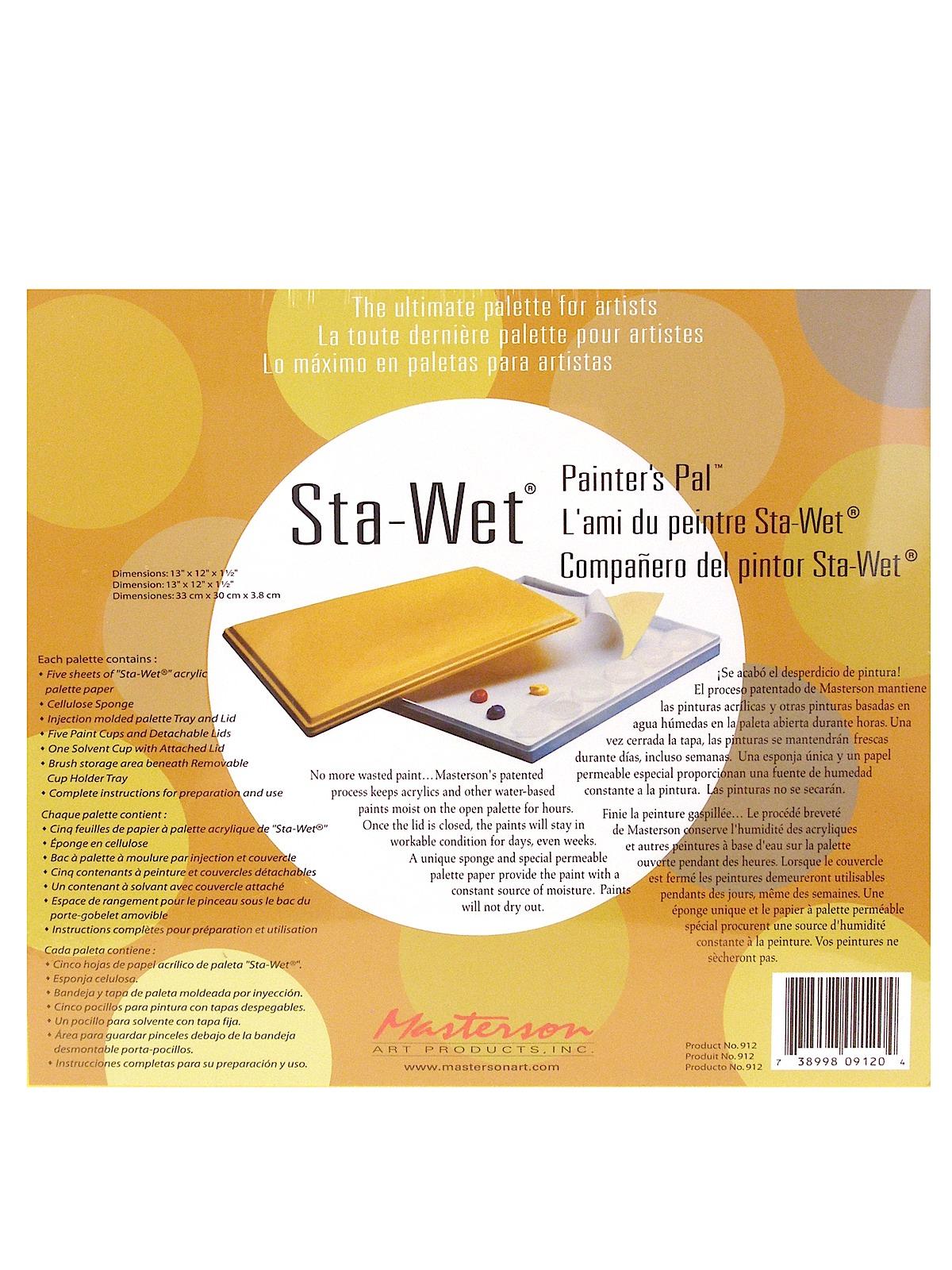 Masterson - Sta-Wet Painters Pal Palette