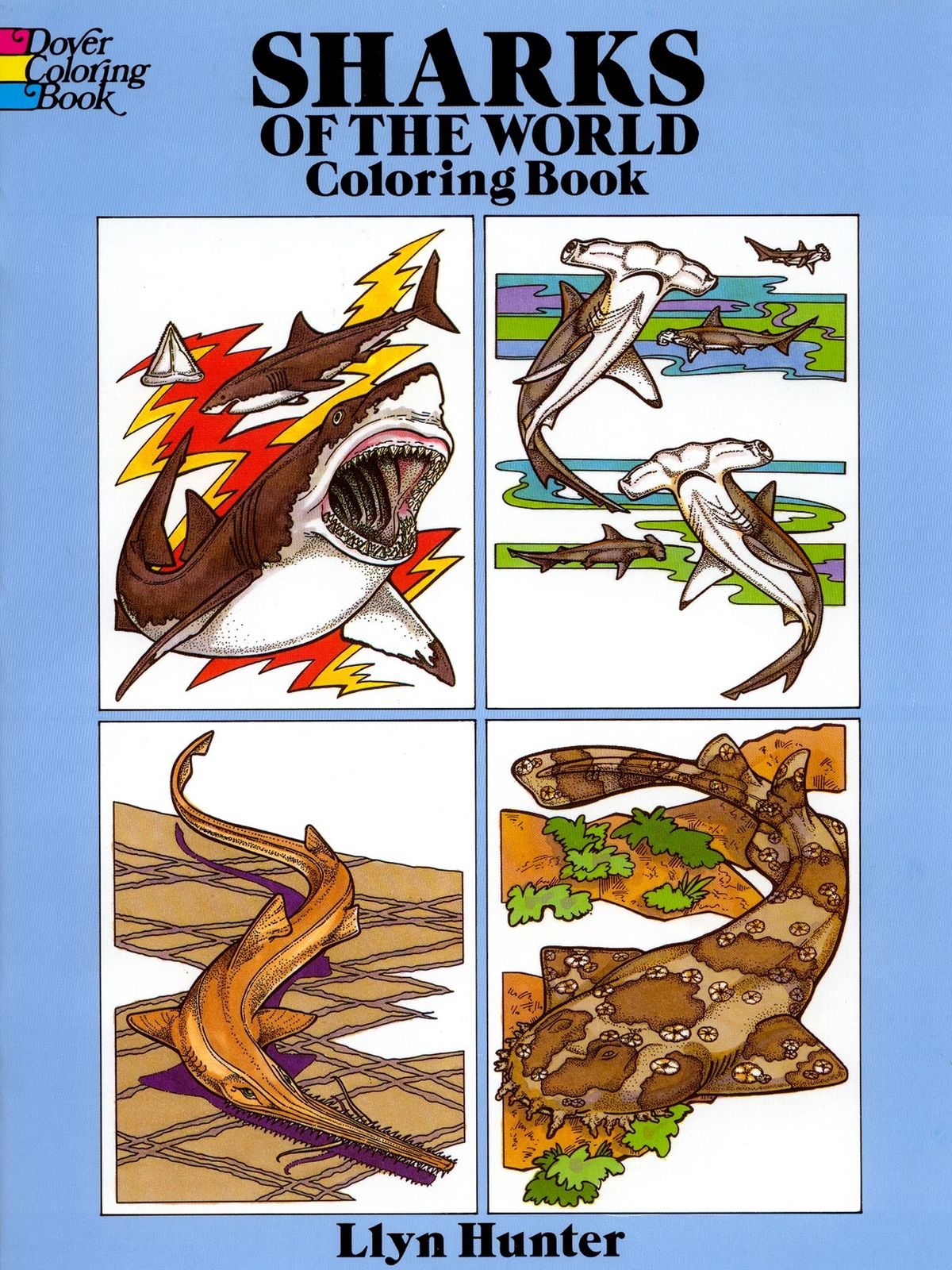 Dover - Sharks of the World Coloring Book