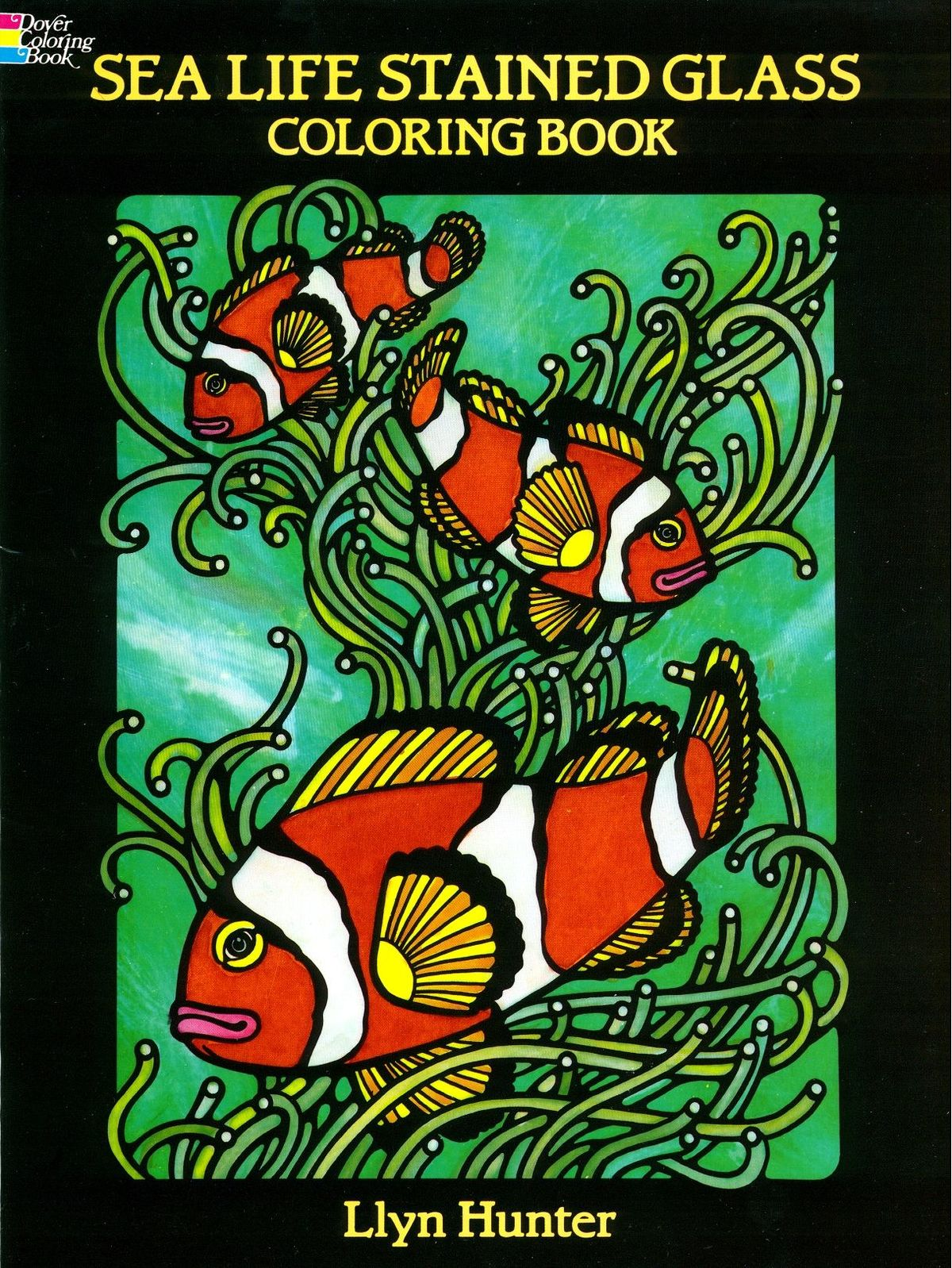 Dover - Sea Life Stained Glass Coloring Book