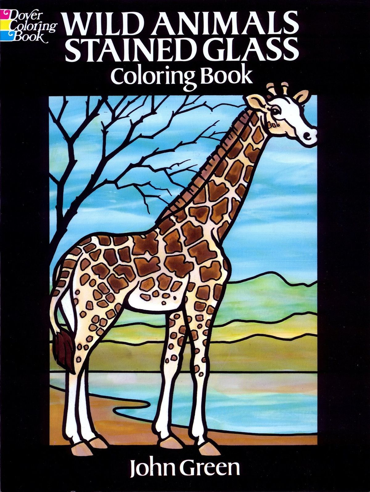 Dover - Wild Animals Stained Glass Coloring Book