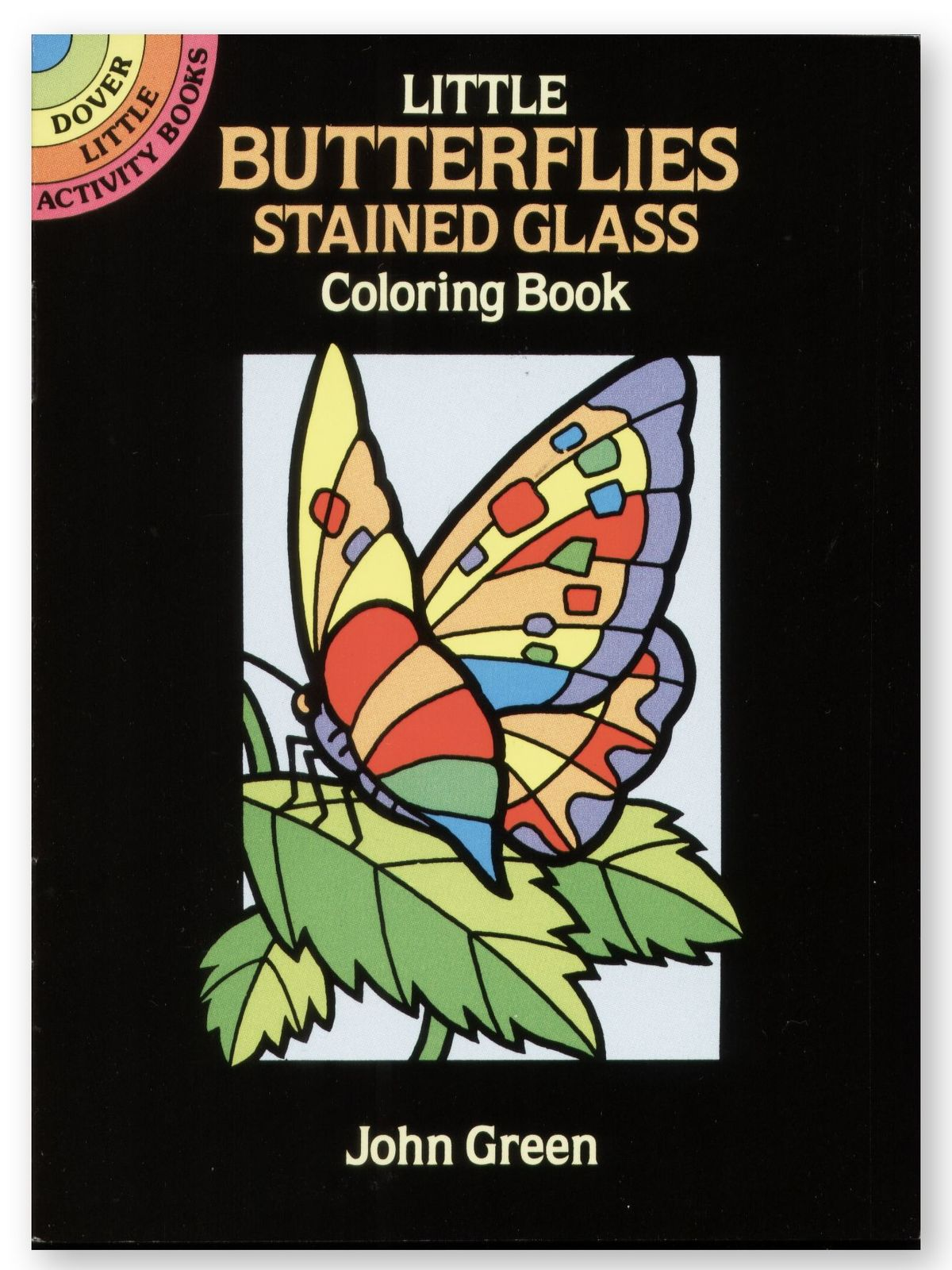 Dover - Little Butterflies Stained Glass Coloring Book