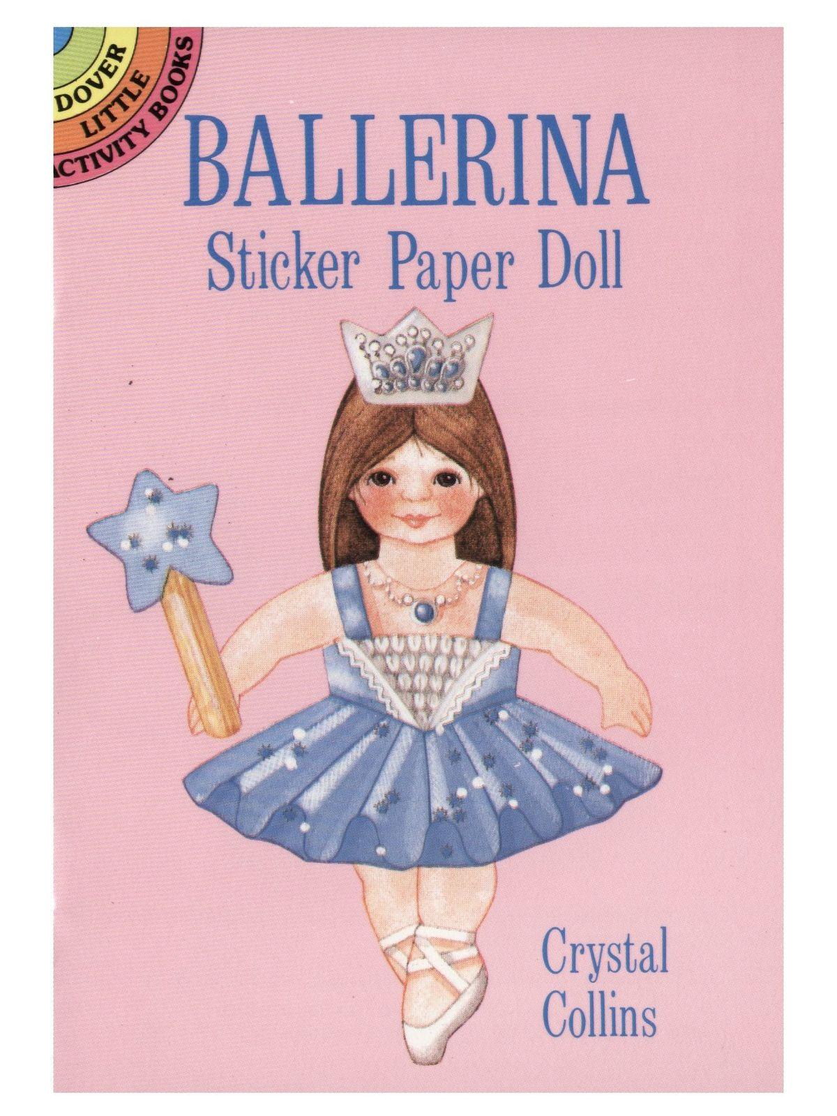 Ballerina Sticker Paper Doll