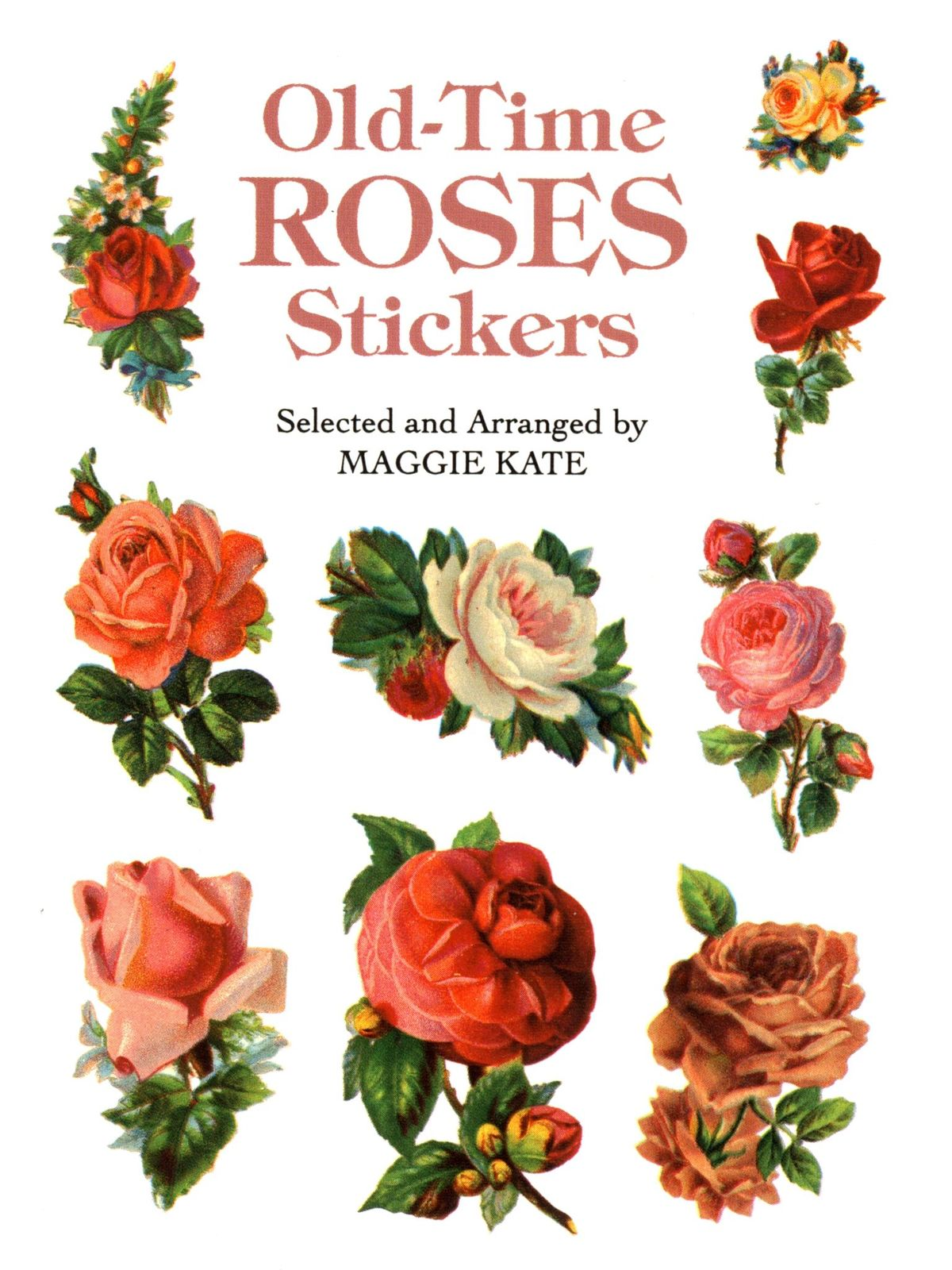 Old-Time Roses Stickers