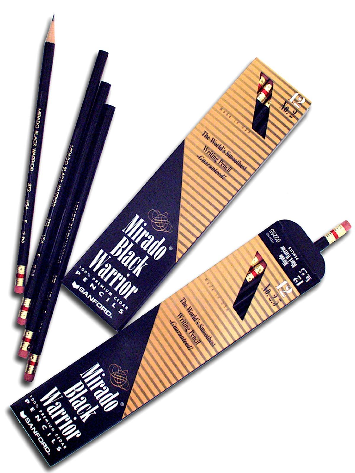 Mirado Black Warrior Pencils