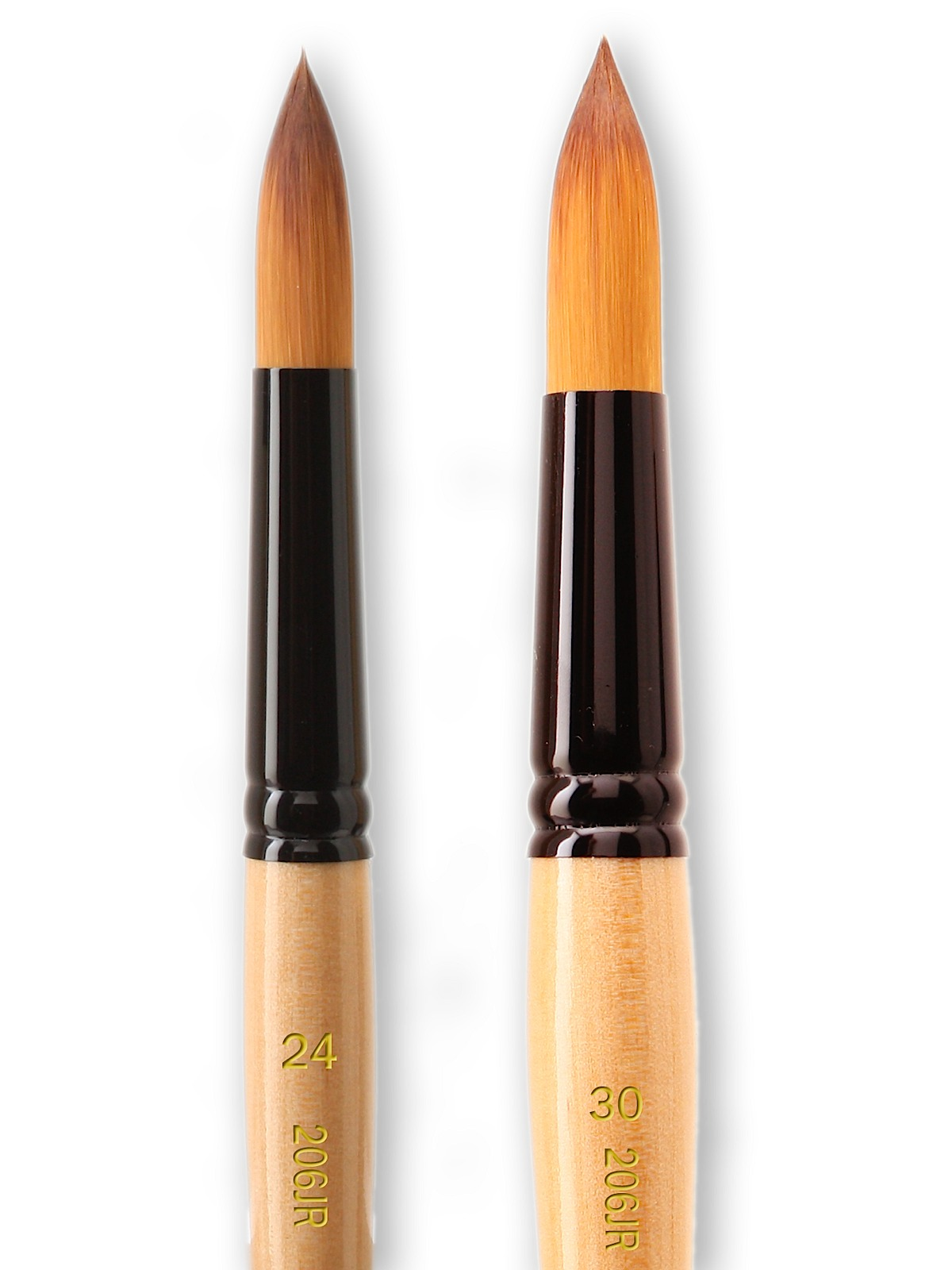 Black Gold Series Synthetic Brushes JUMBO Round
