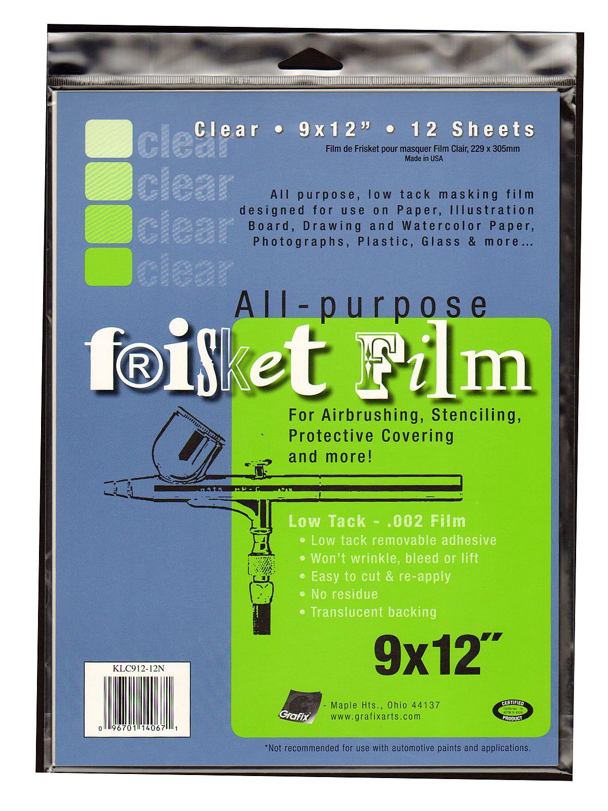 Original Low Tack Frisket Film
