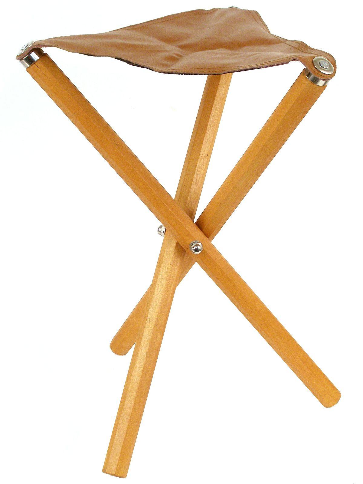 Three Leg Wood Artist Stool