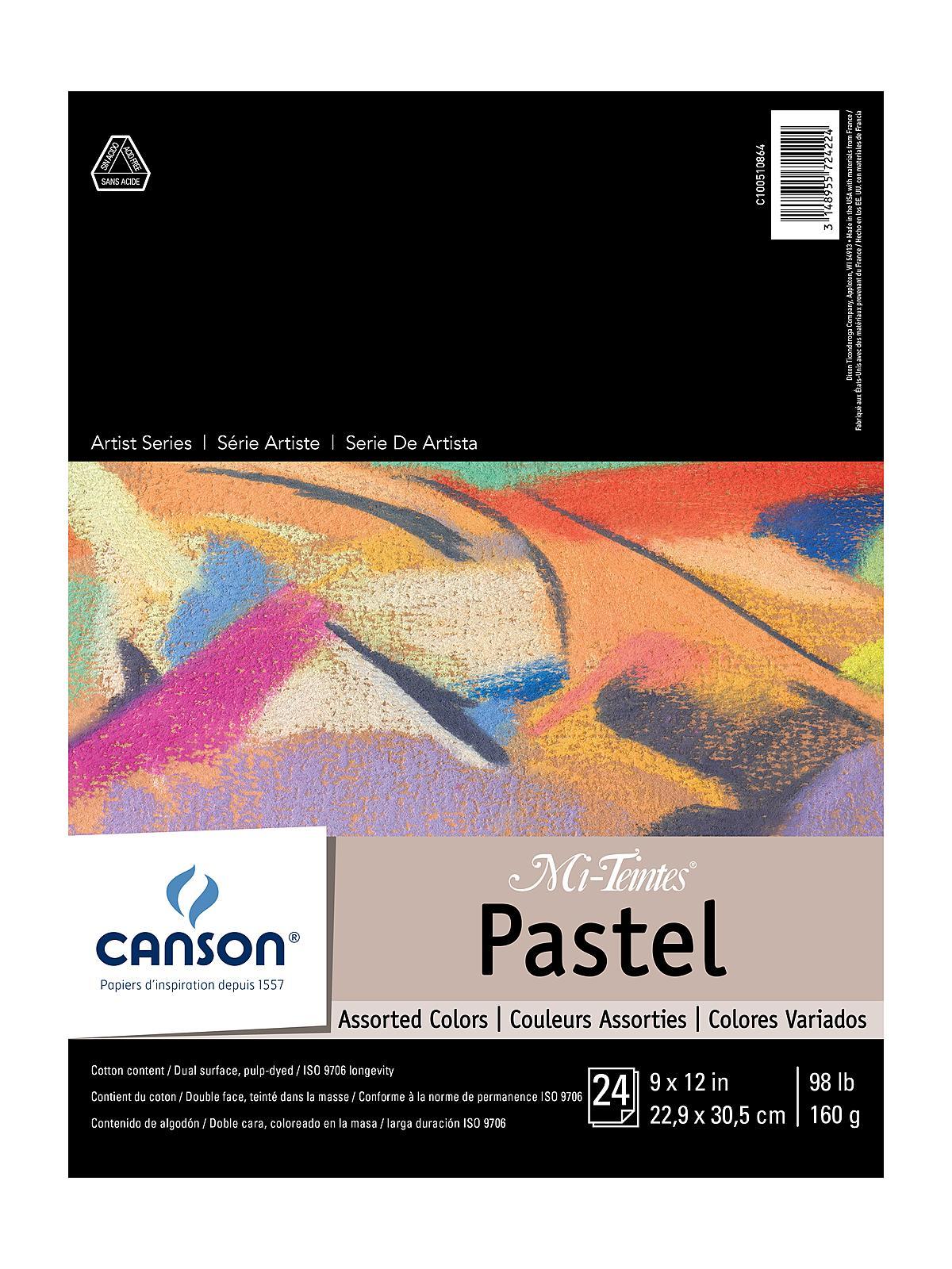 Mi-Teintes Pastel Assorted Pad