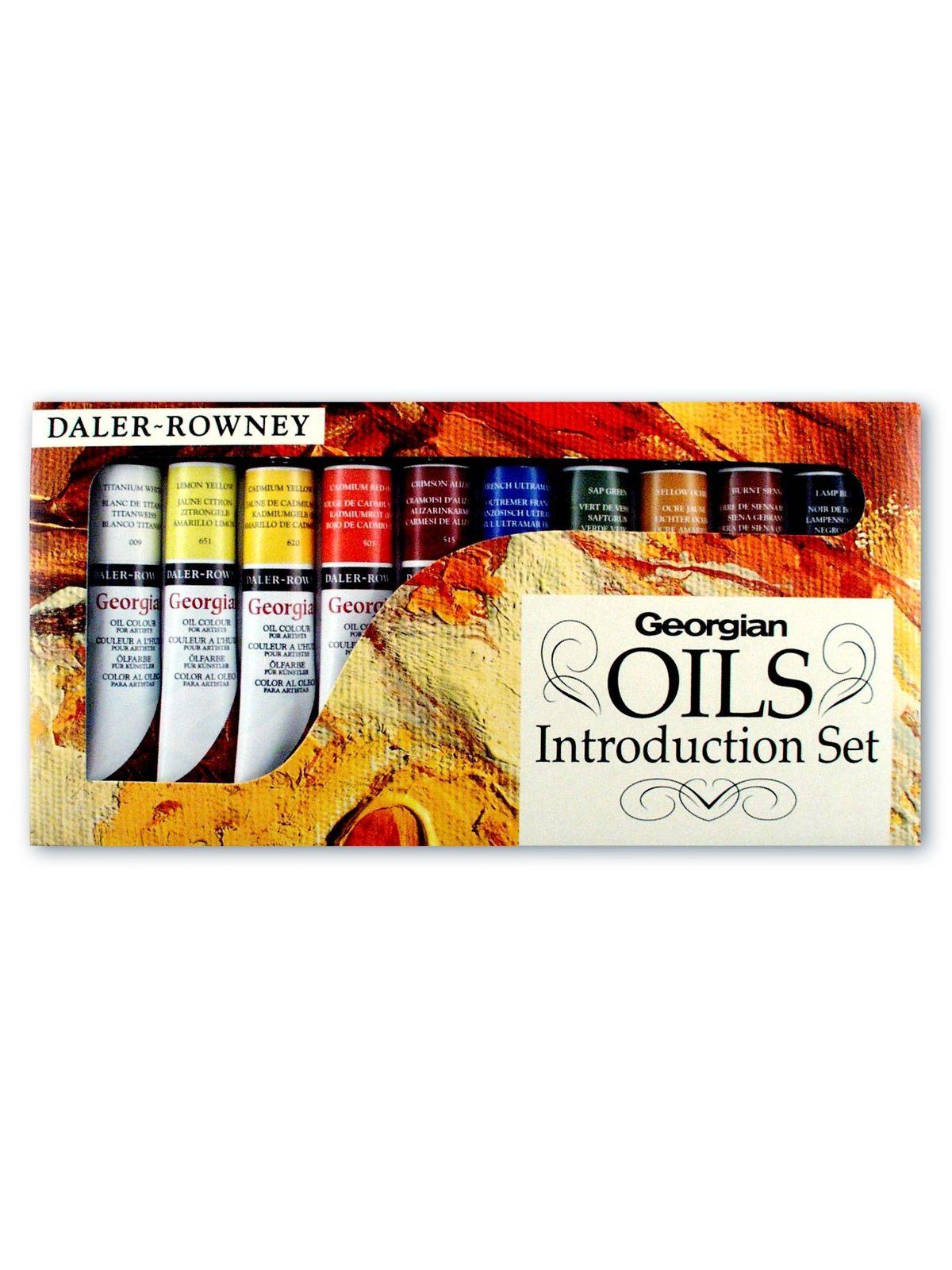 Introduction To Georgian Oil Set