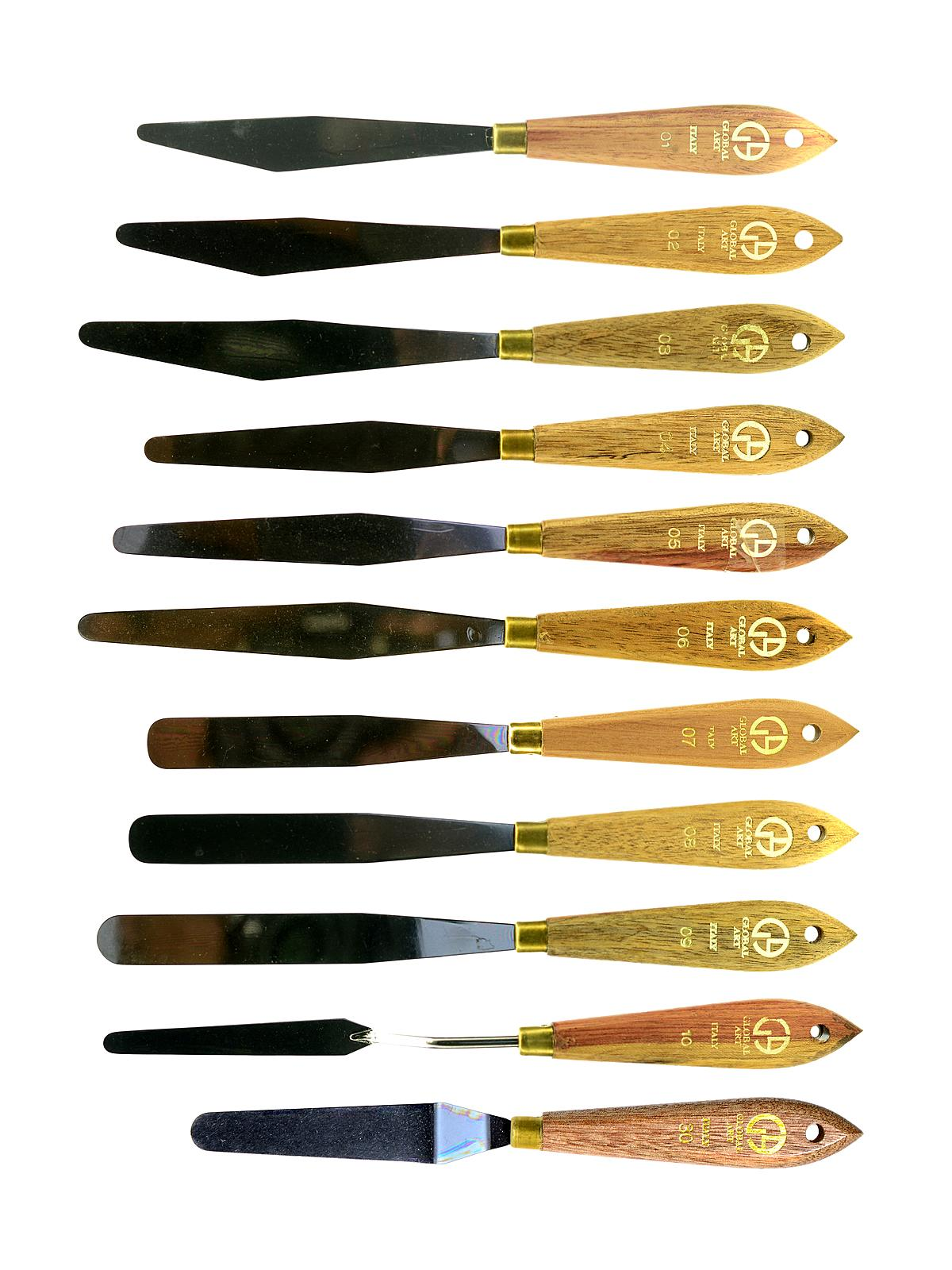 Round Tip Painting Knives