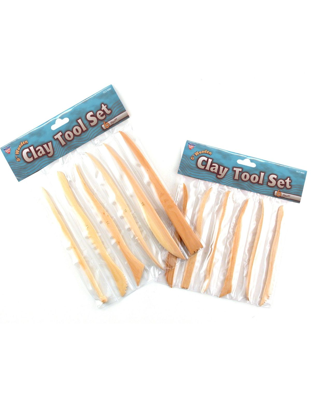 Wooden Clay Tool Sets